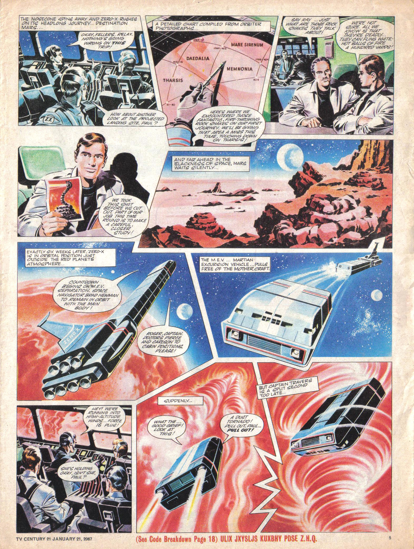 Read online TV Century 21 (TV 21) comic -  Issue #105 - 5