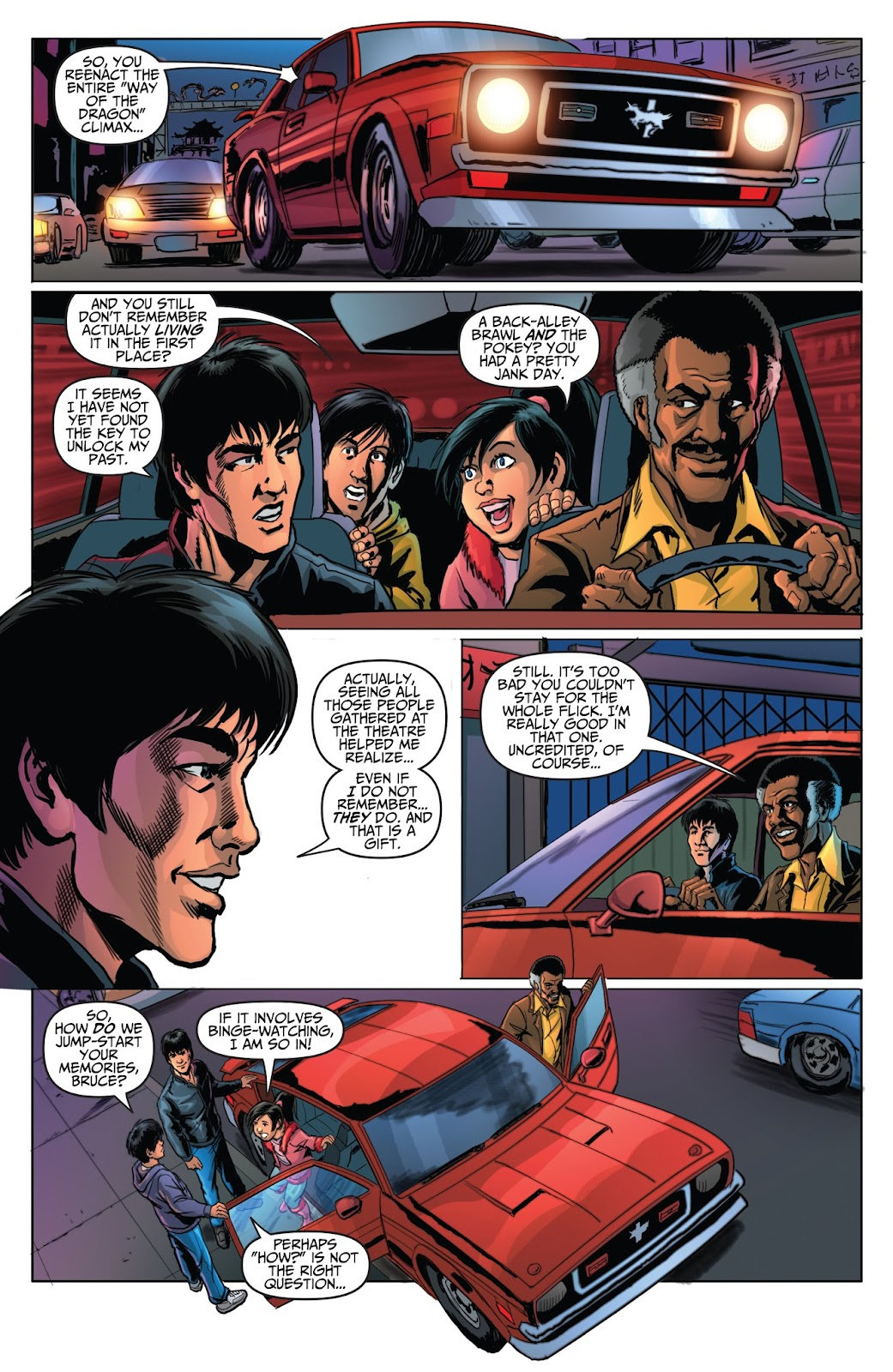 Bruce Lee: Walk of the Dragon issue Full - Page 23