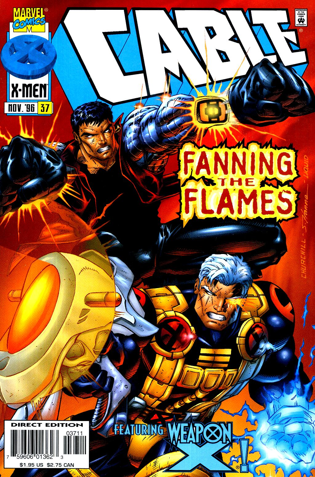 Cable (1993) 37 Page 1