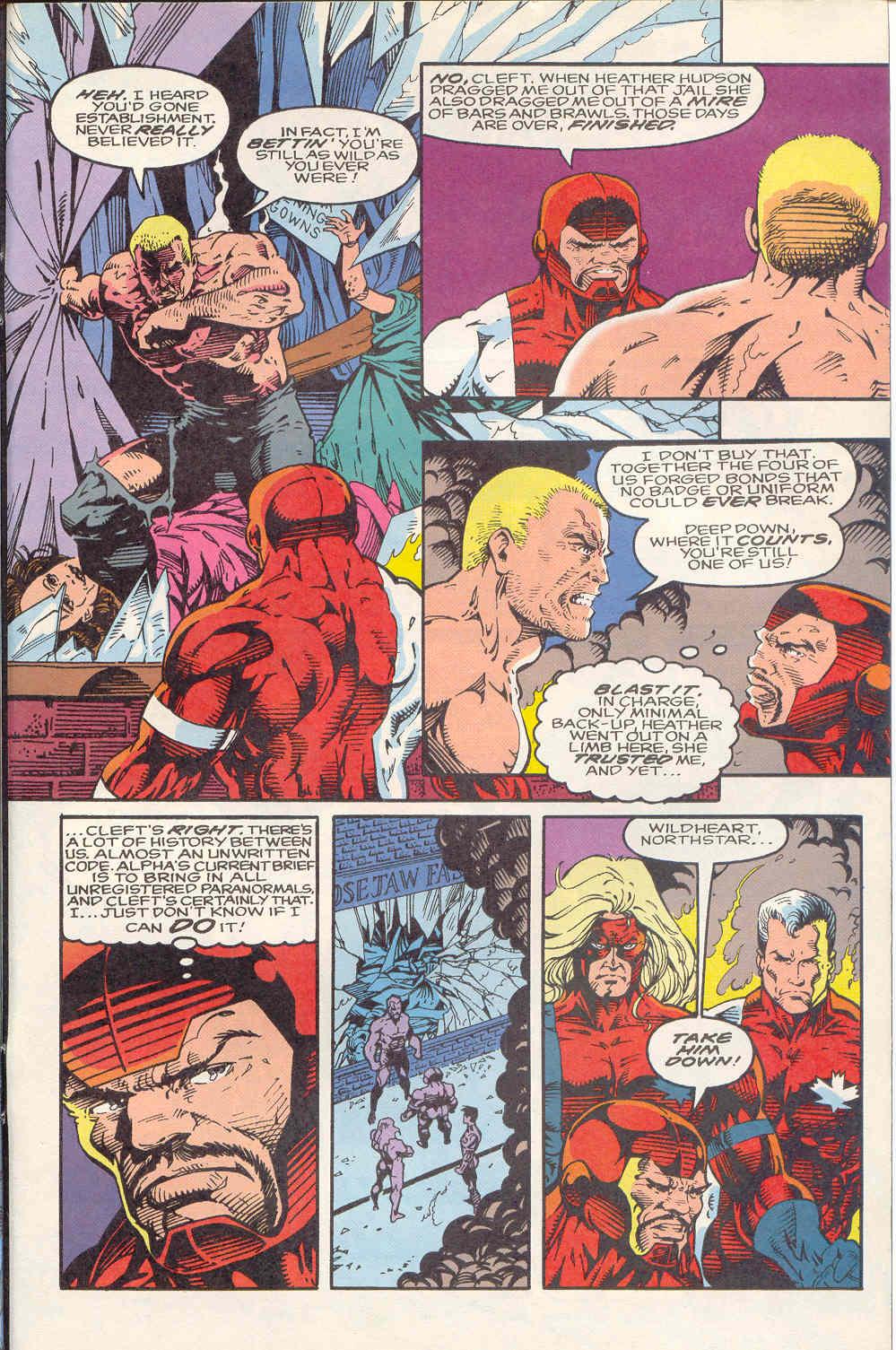 Read online Alpha Flight (1983) comic -  Issue #122 - 23