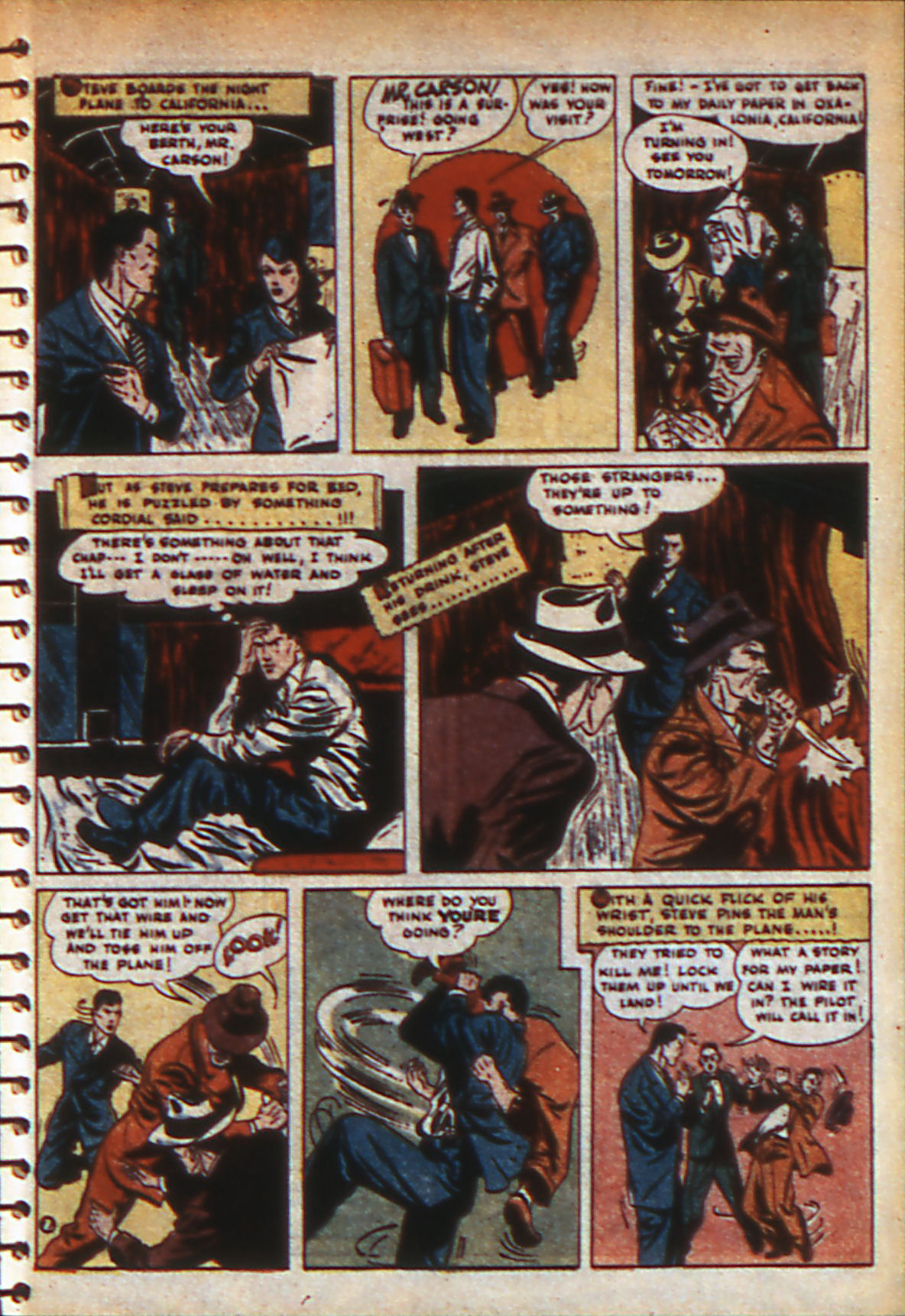 Read online Adventure Comics (1938) comic -  Issue #57 - 30
