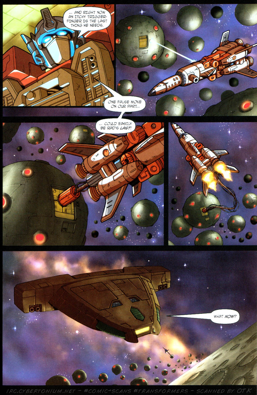 Read online Transformers Armada comic -  Issue #11 - 17