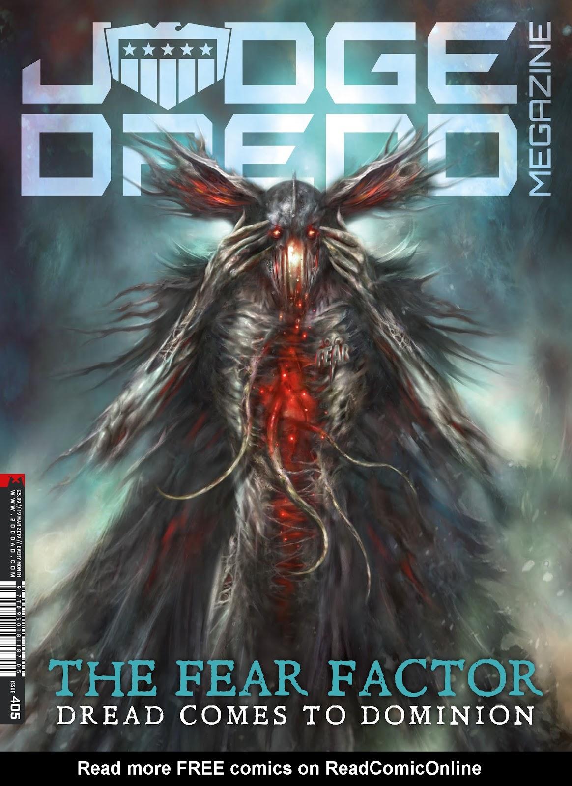 Judge Dredd Megazine (Vol.5) issue 405 - Page 1