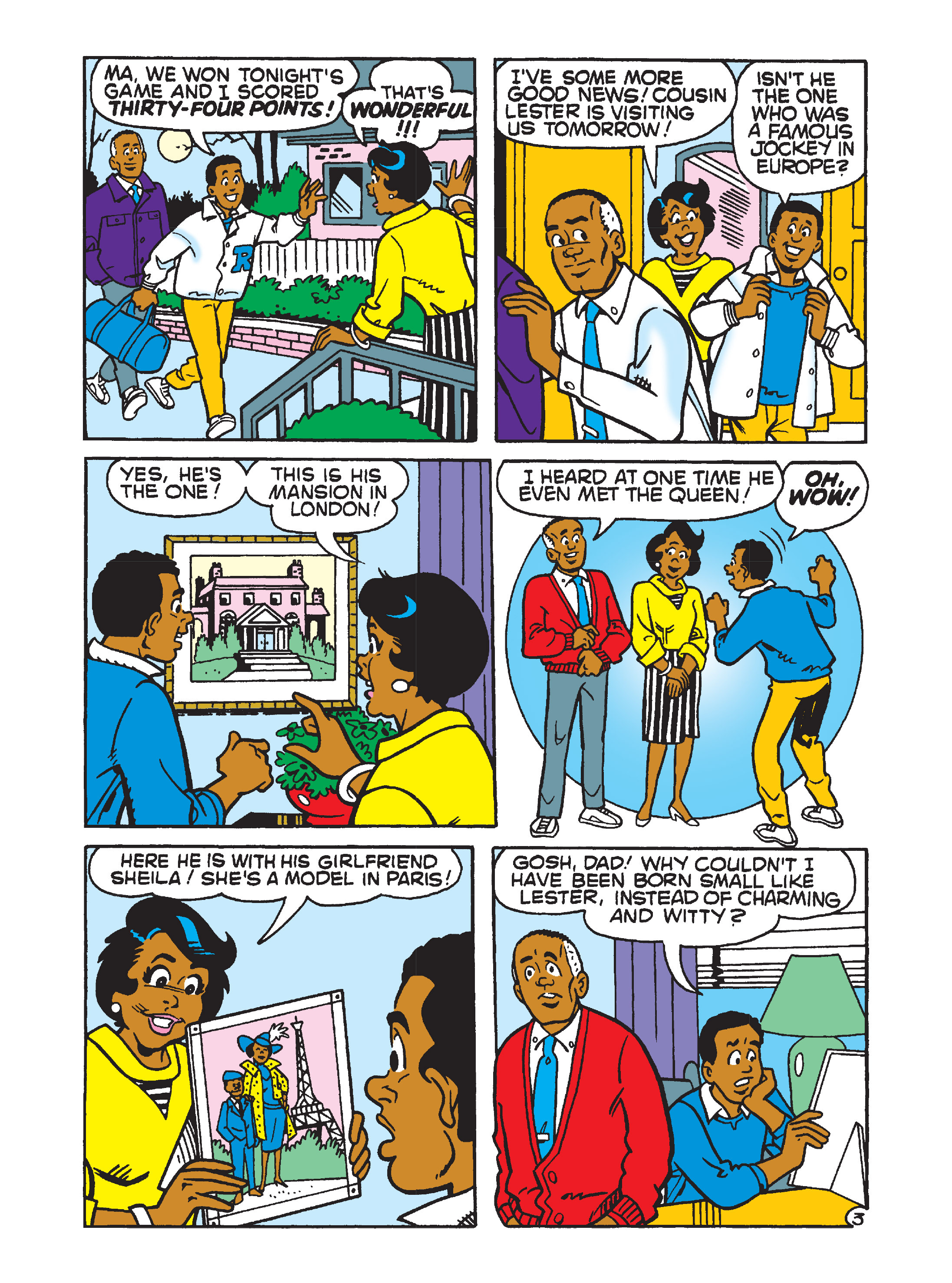 Read online Archie's Funhouse Double Digest comic -  Issue #2 - 71