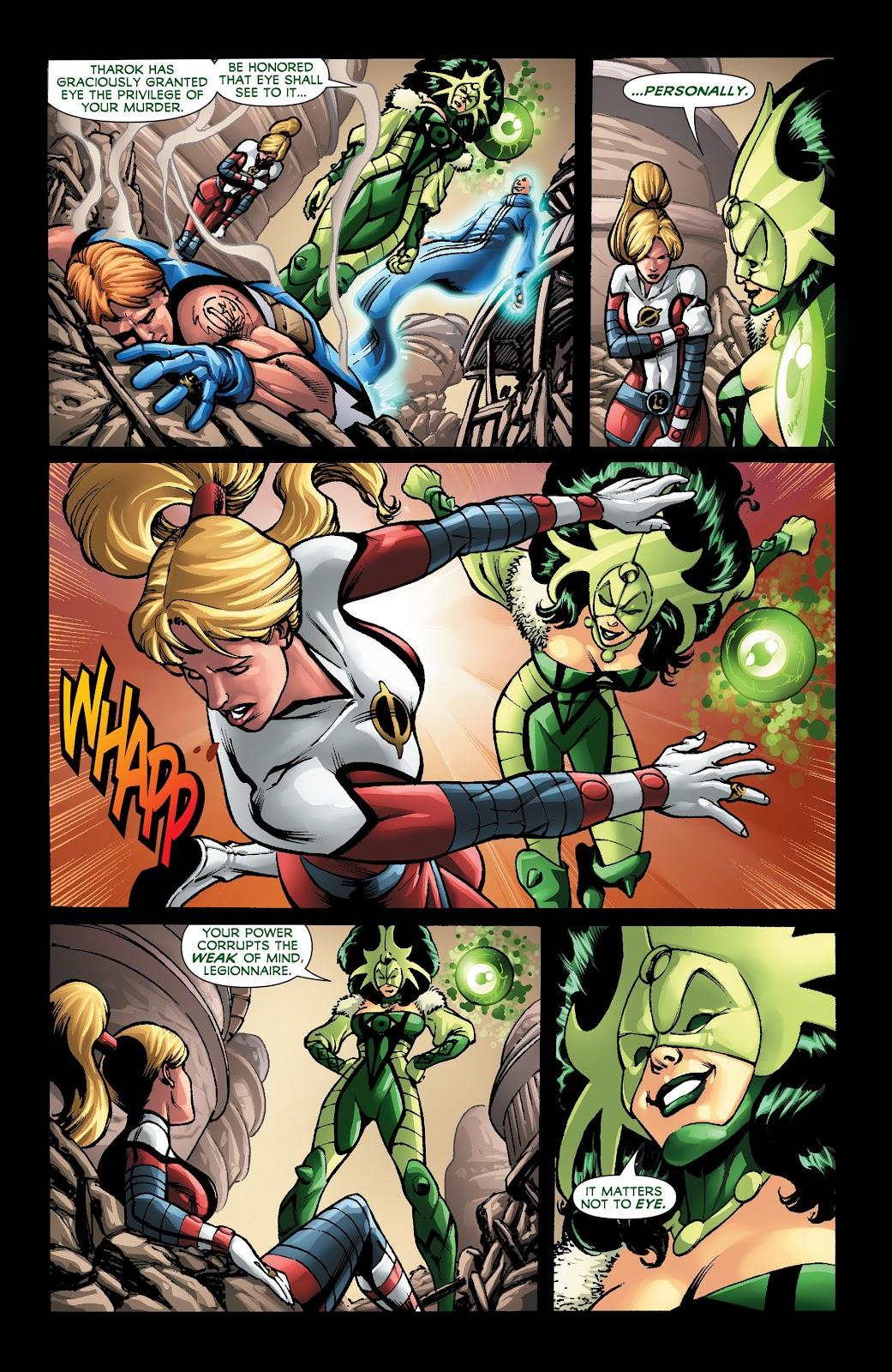 Legion of Super-Heroes (2011) Issue #22 #23 - English 11