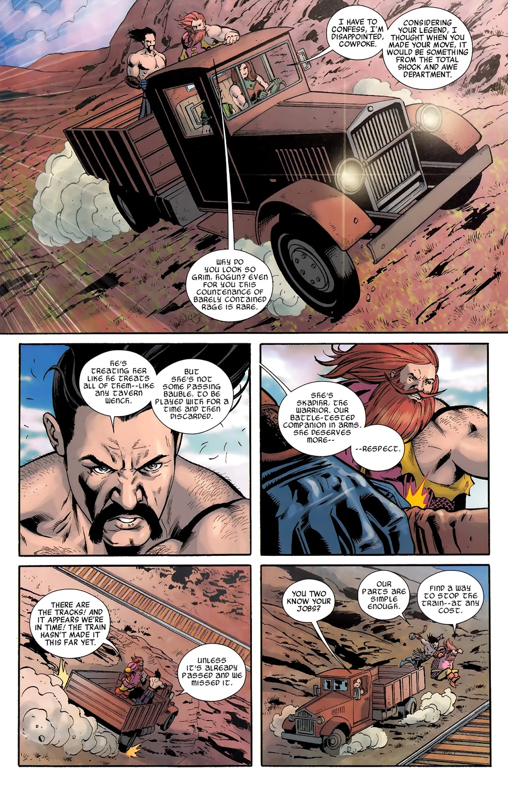 Warriors Three Issue #4 #4 - English 12
