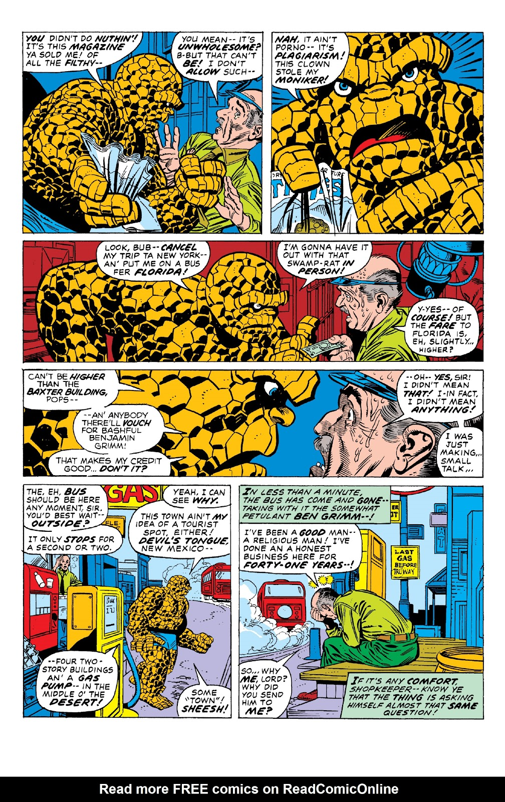 Read online Marvel Two-In-One Epic Collection: Cry Monster comic -  Issue # TPB (Part 1) - 47