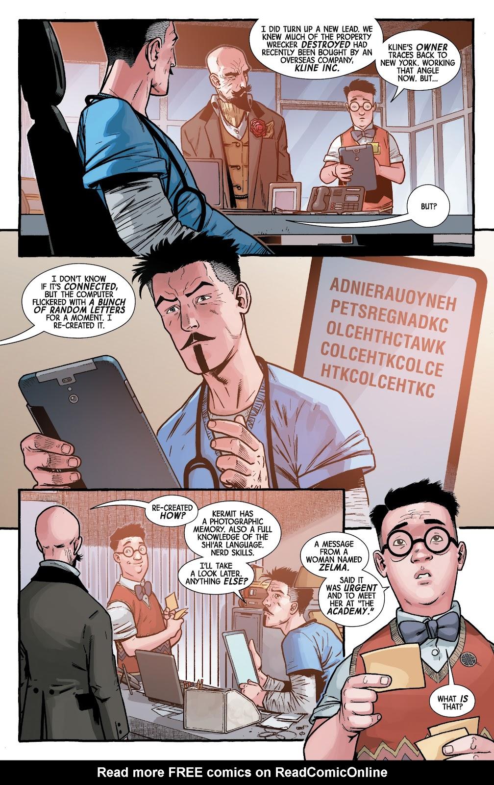 Read online Dr. Strange comic -  Issue #5 - 10