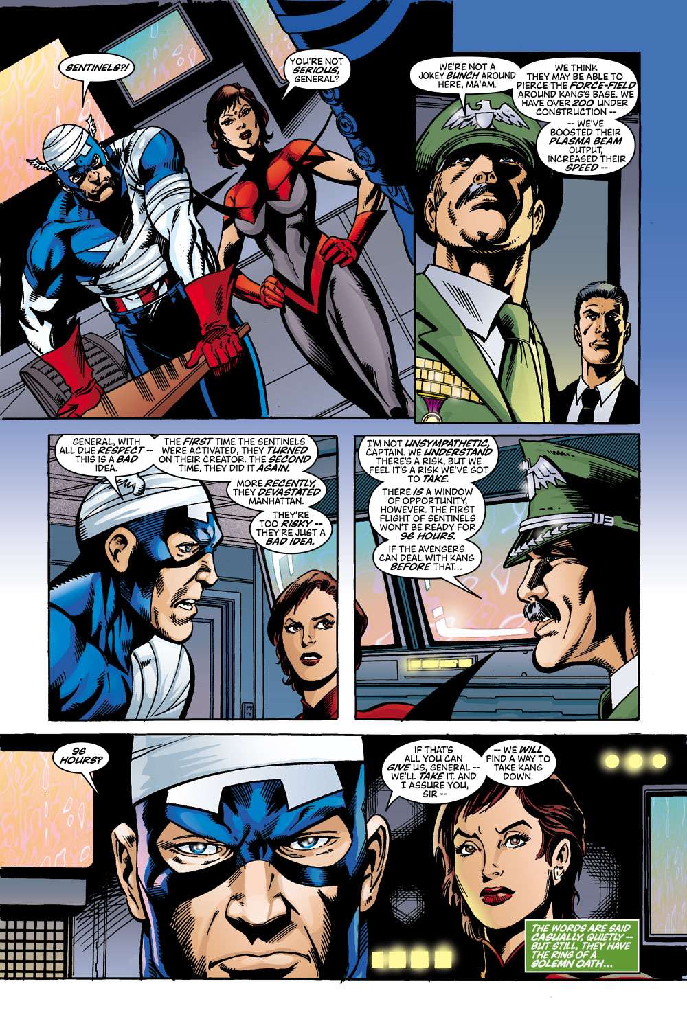 Read online Avengers (1998) comic -  Issue #45 - 19