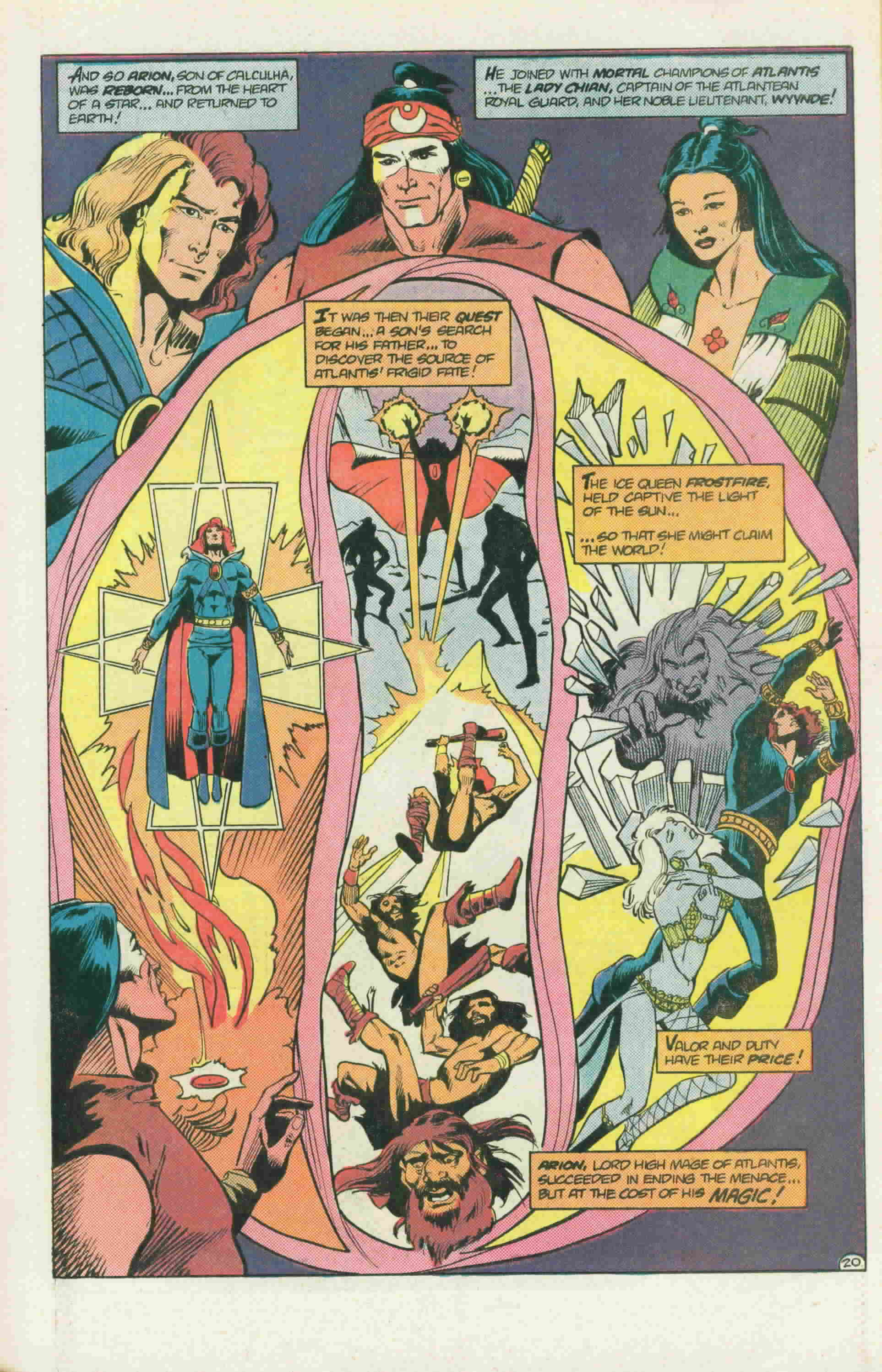 Read online Arion, Lord of Atlantis comic -  Issue #22 - 29