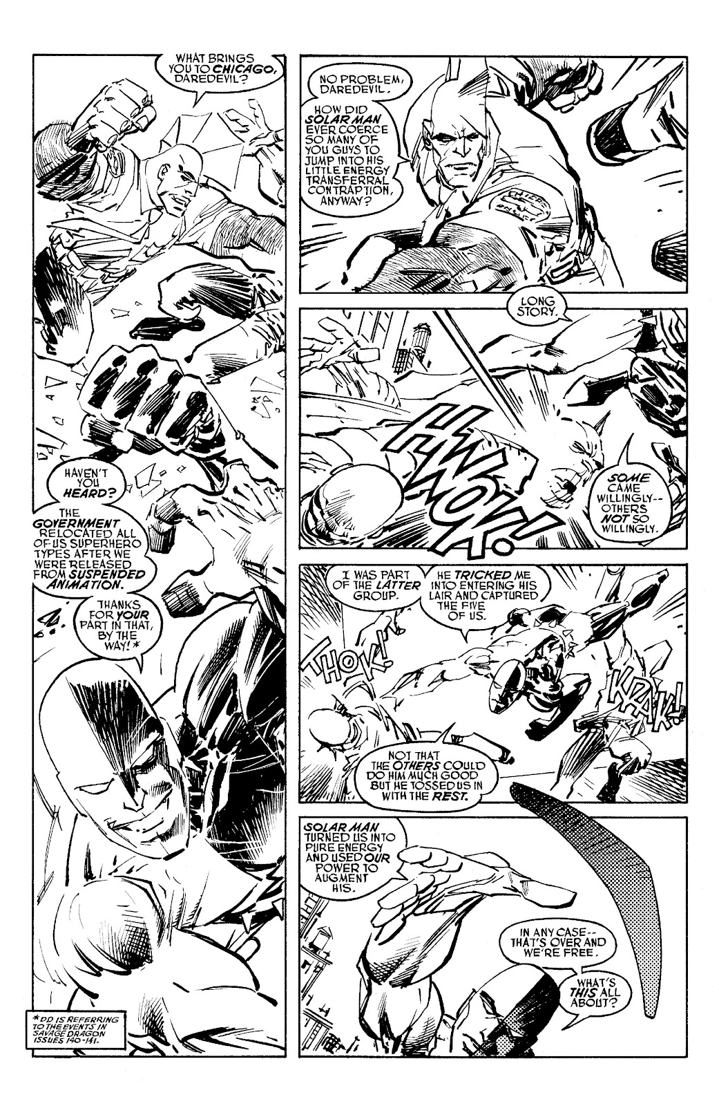 Read online Savage Dragon Archives comic -  Issue # TPB 6 (Part 5) - 35