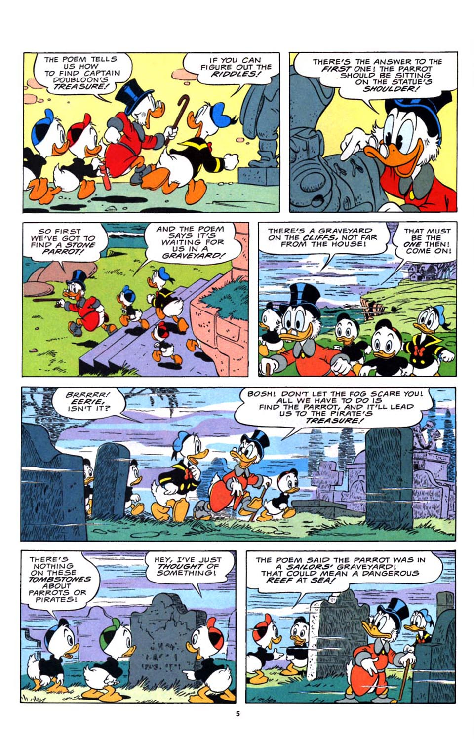 Read online Uncle Scrooge (1953) comic -  Issue #248 - 6