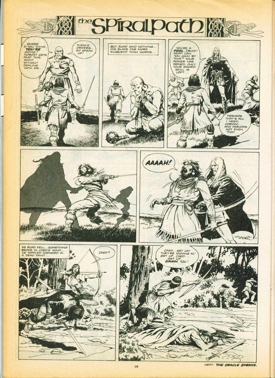 Warrior Issue #6 #7 - English 16