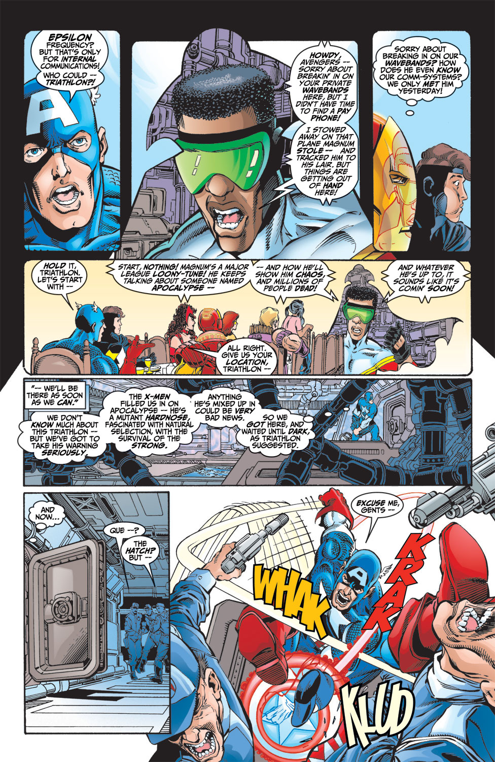 Read online Avengers (1998) comic -  Issue #9 - 7