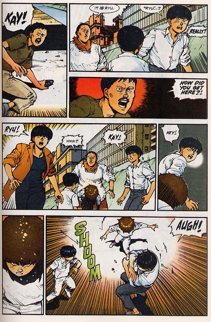 Read online Akira comic -  Issue #15 - 54