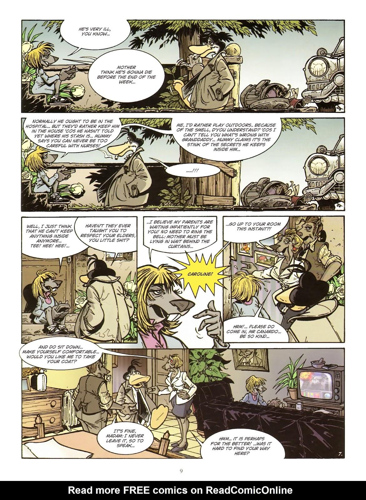 Une enquête de l'inspecteur Canardo issue 11 - Page 10