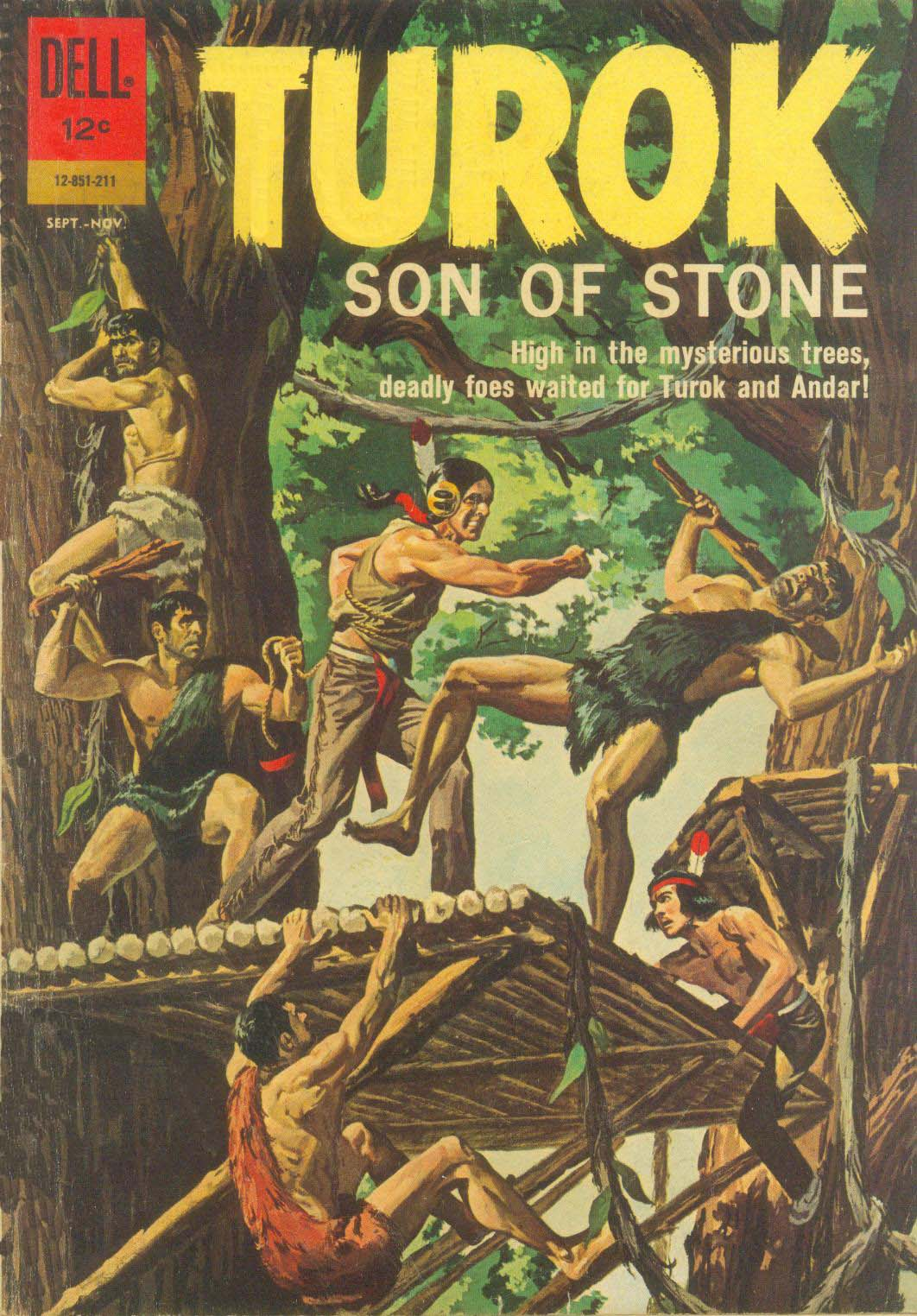 Read online Turok, Son of Stone comic -  Issue #29 - 1