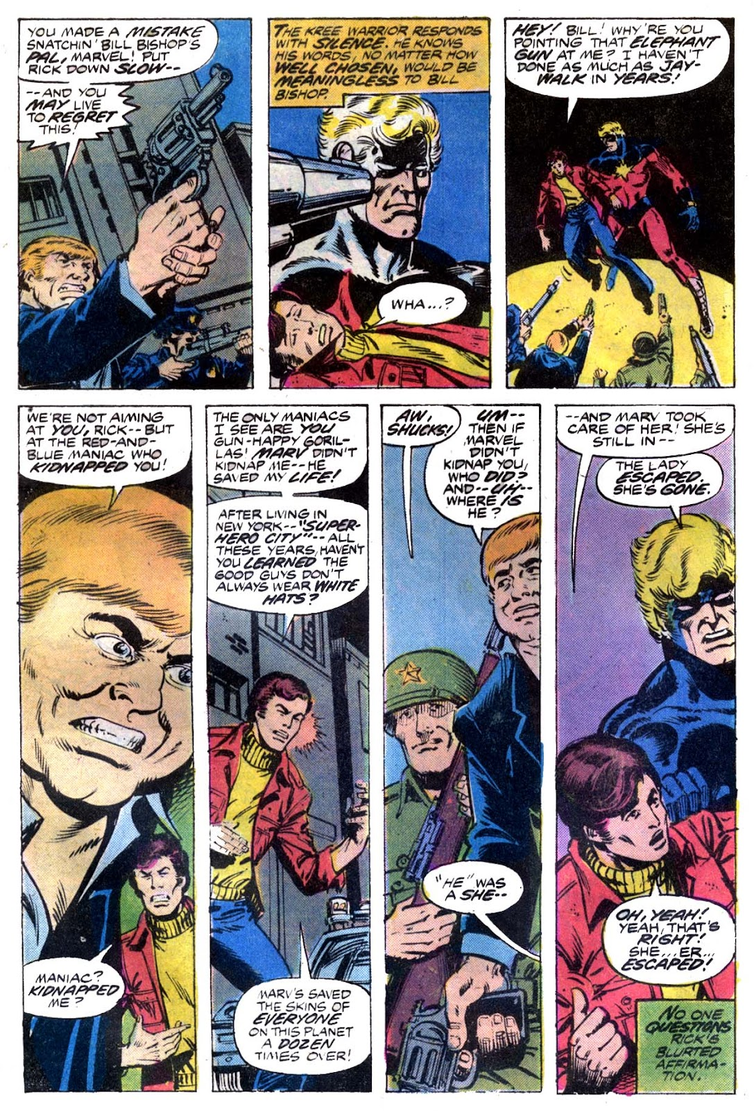 Captain Marvel (1968) issue 53 - Page 3