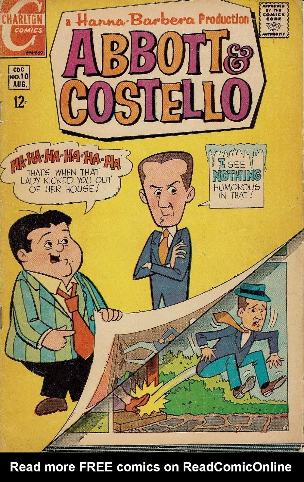 Abbott & Costello 10 Page 1