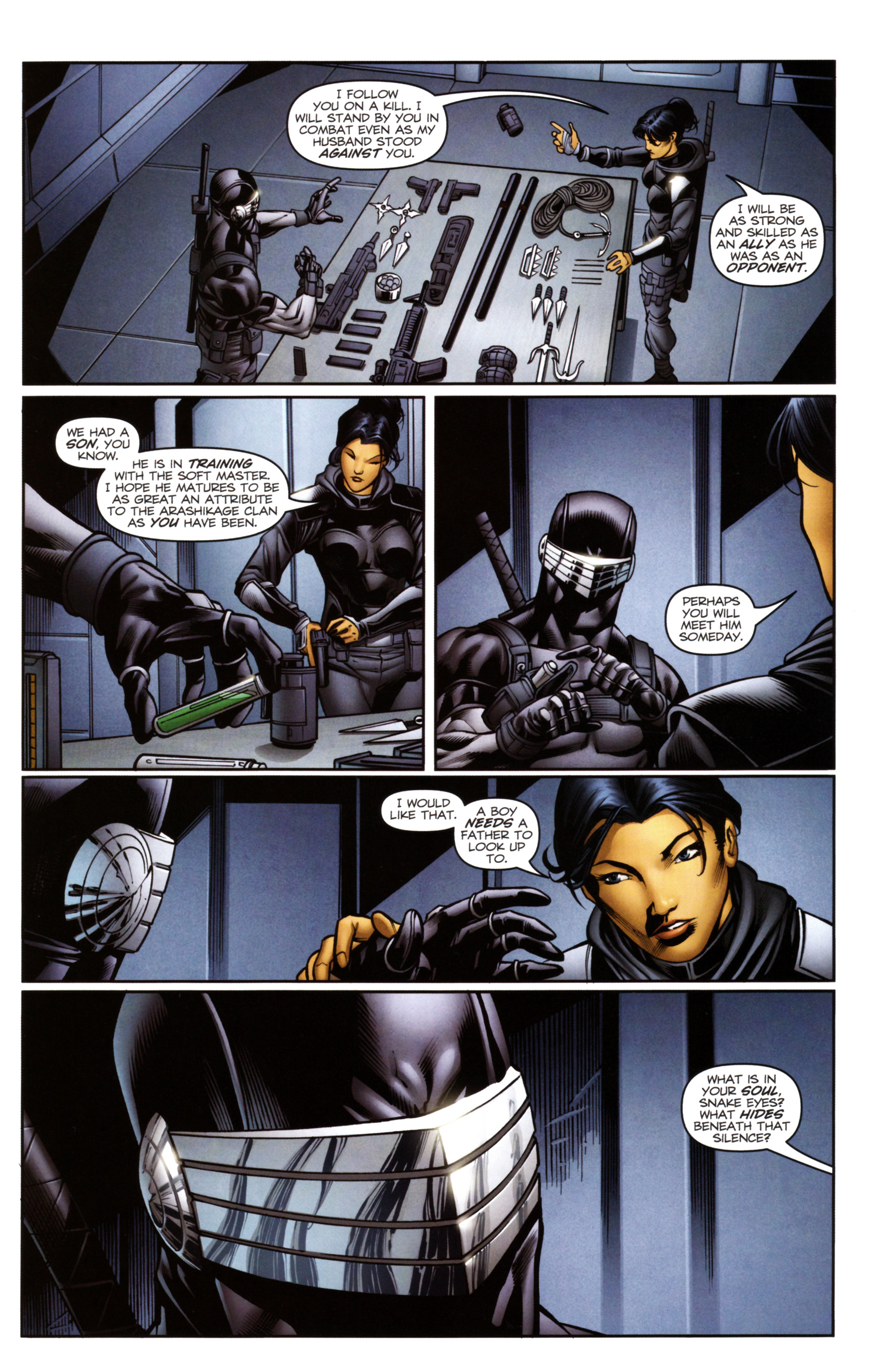 Read online Snake Eyes and Storm Shadow comic -  Issue #14 - 13
