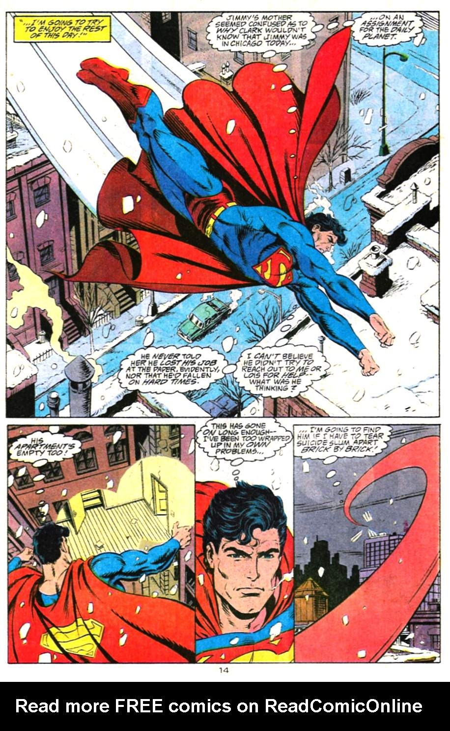 Read online Adventures of Superman (1987) comic -  Issue #487 - 15
