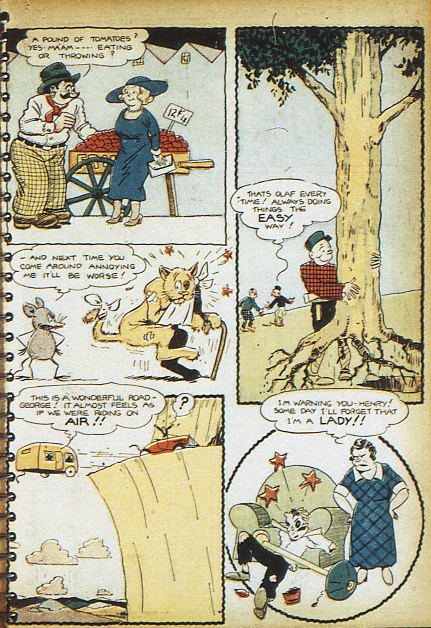 Read online Adventure Comics (1938) comic -  Issue #18 - 36