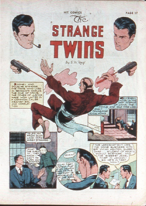 Read online Hit Comics comic -  Issue #10 - 19