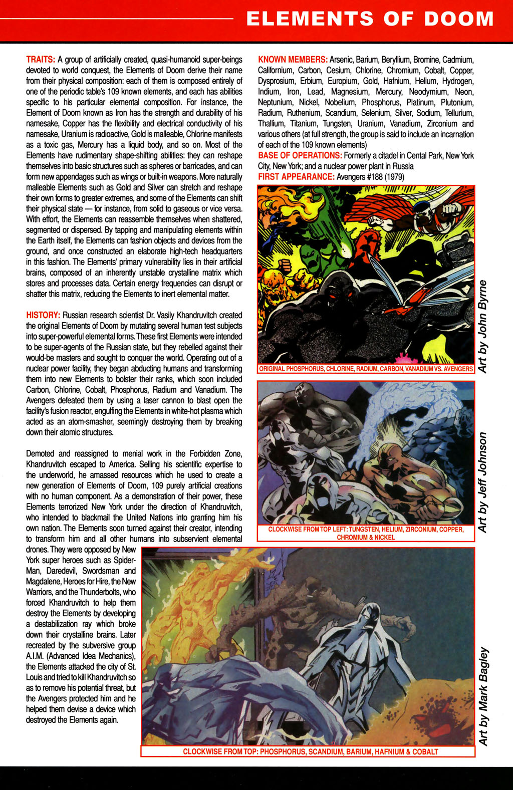 Read online All-New Official Handbook of the Marvel Universe A to Z comic -  Issue #4 - 7