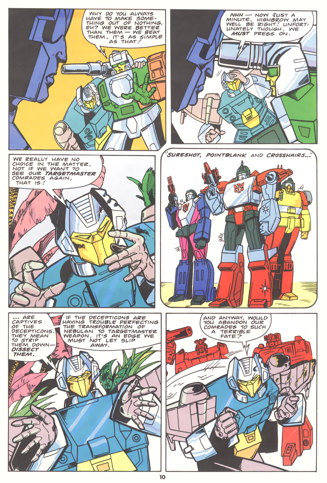 The Transformers (UK) 256 Page 3