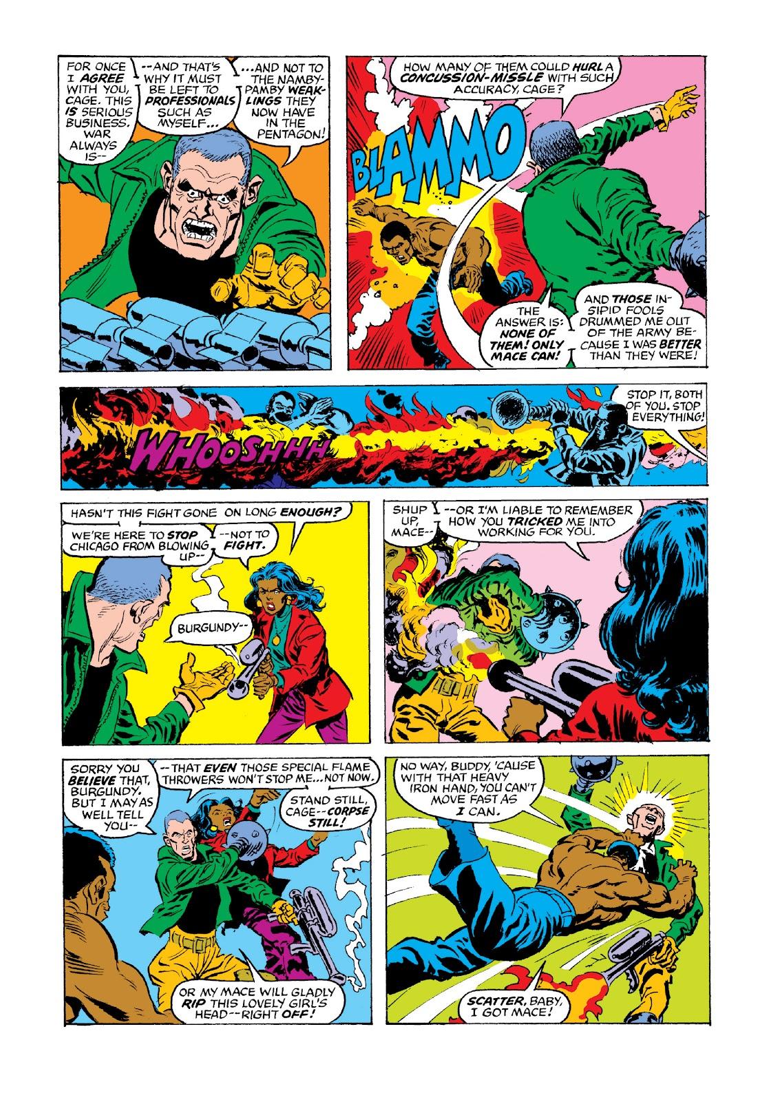 Read online Marvel Masterworks: Luke Cage, Power Man comic -  Issue # TPB 3 (Part 3) - 77