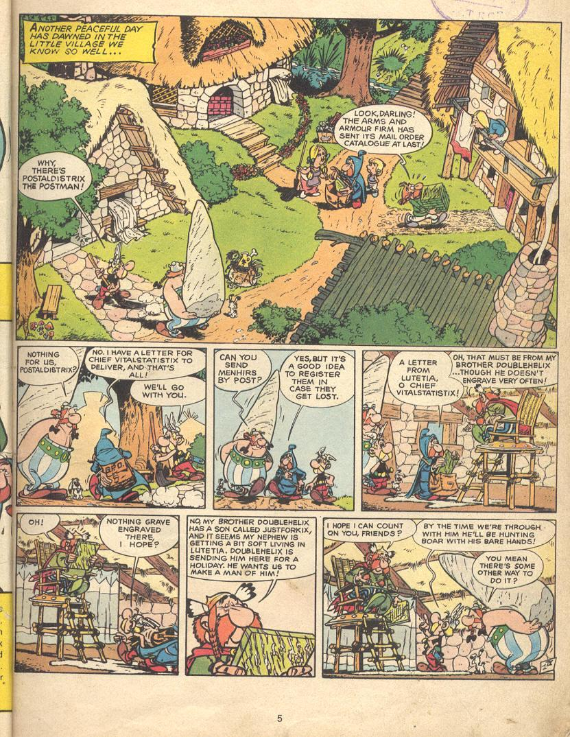 Read online Asterix comic -  Issue #9 - 2