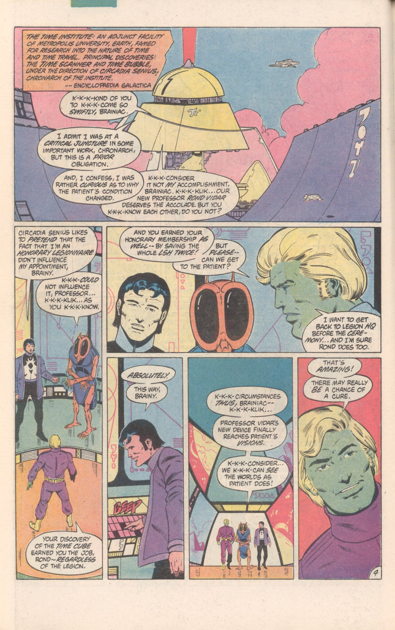 Legion of Super-Heroes (1980) 300 Page 4