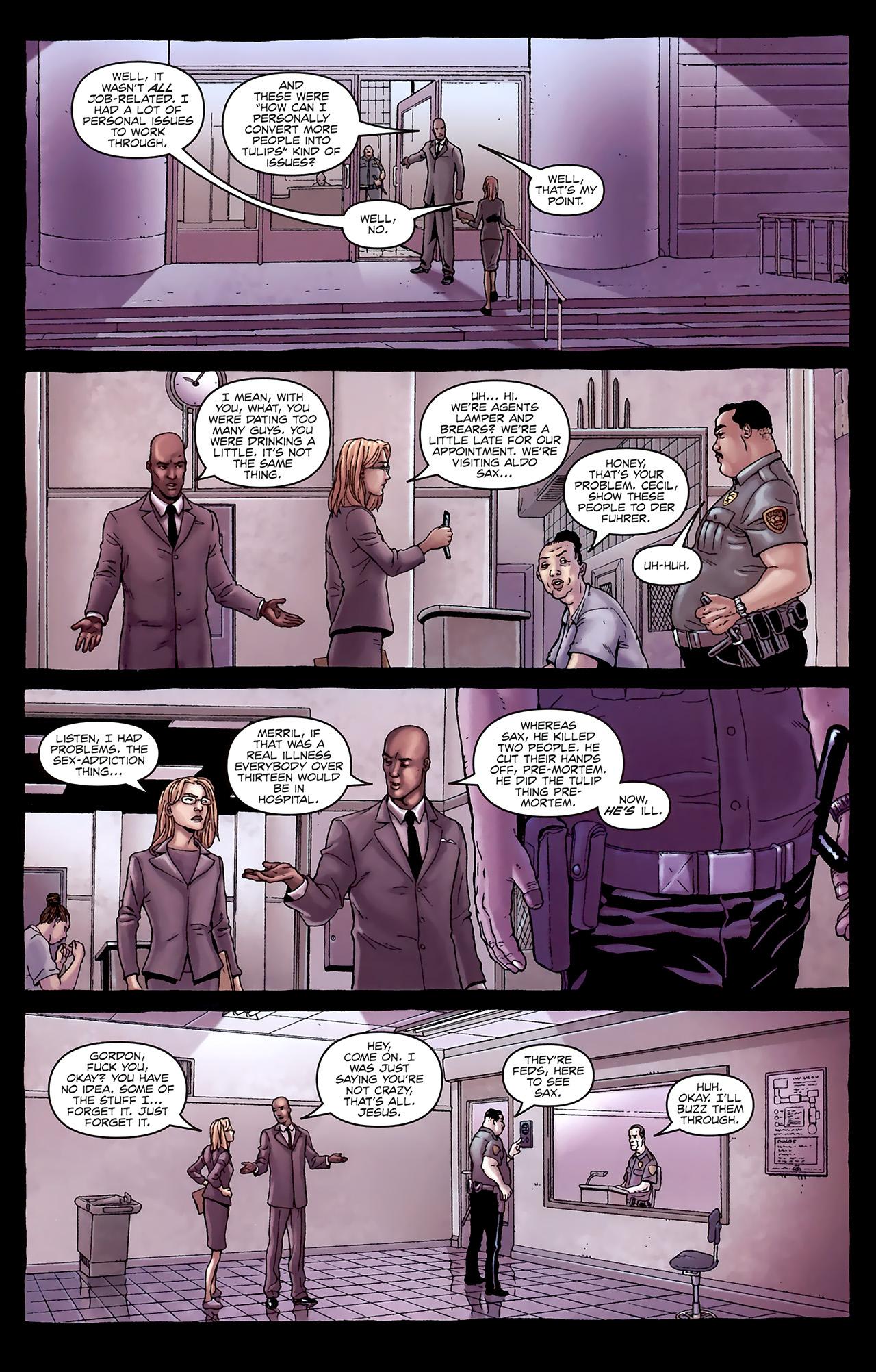 Read online Alan Moore's Neonomicon comic -  Issue #1 - 14