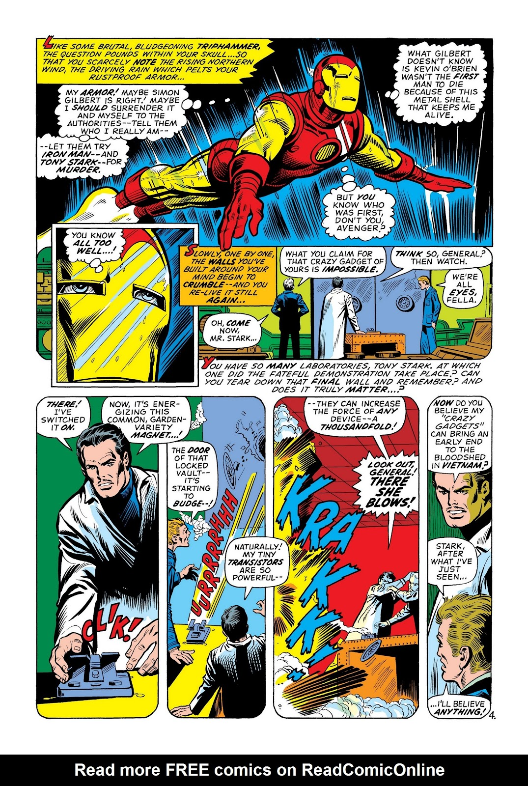 Read online Marvel Masterworks: The Invincible Iron Man comic -  Issue # TPB 8 (Part 2) - 70
