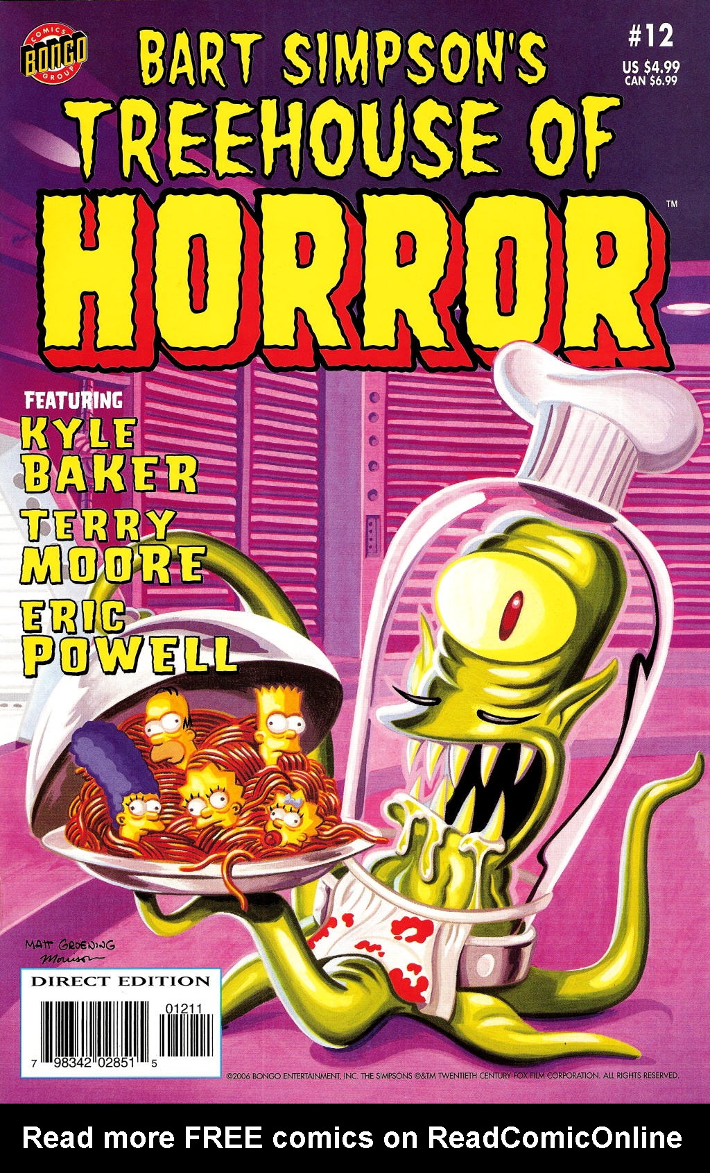 Read online Treehouse of Horror comic -  Issue #12 - 1