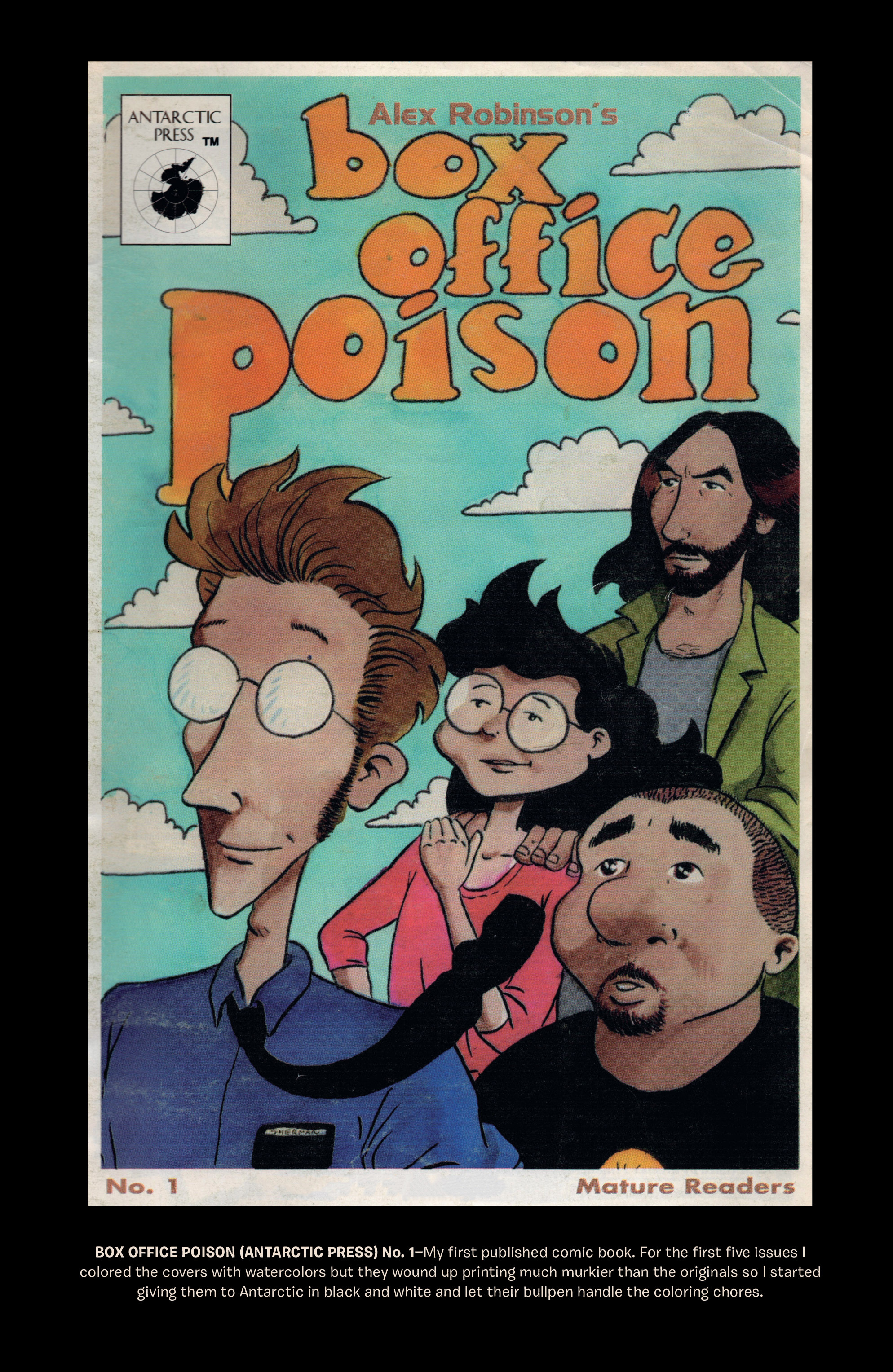 Read online Box Office Poison Color Comics comic -  Issue #4 - 29