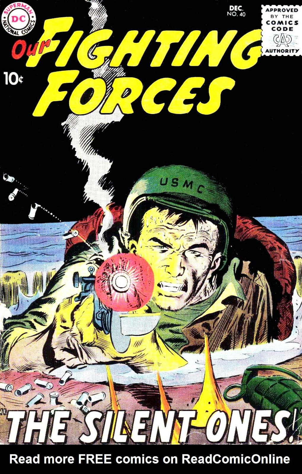 Our Fighting Forces (1954) issue 40 - Page 1