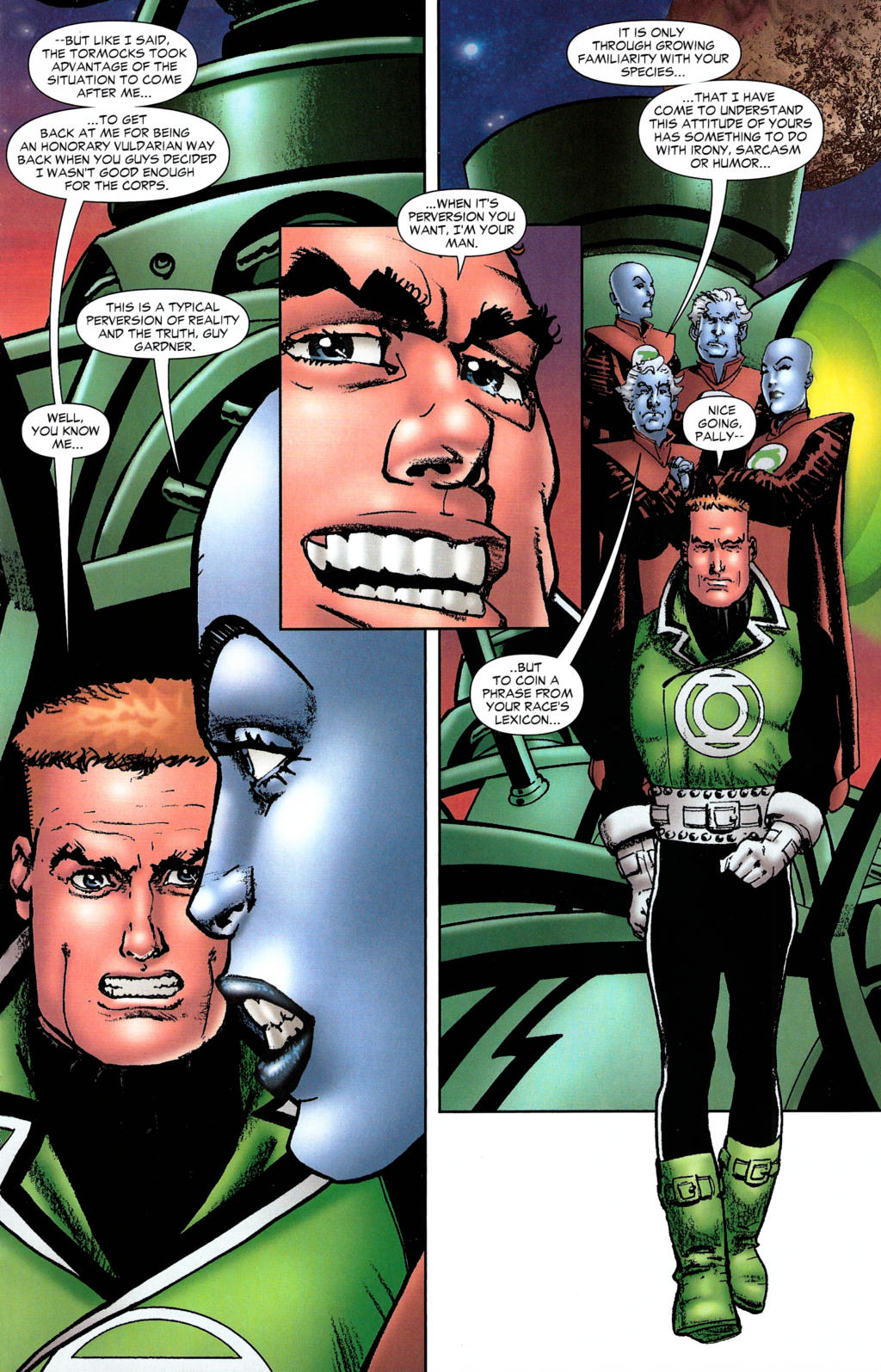 Read online Guy Gardner: Collateral Damage comic -  Issue #2 - 10