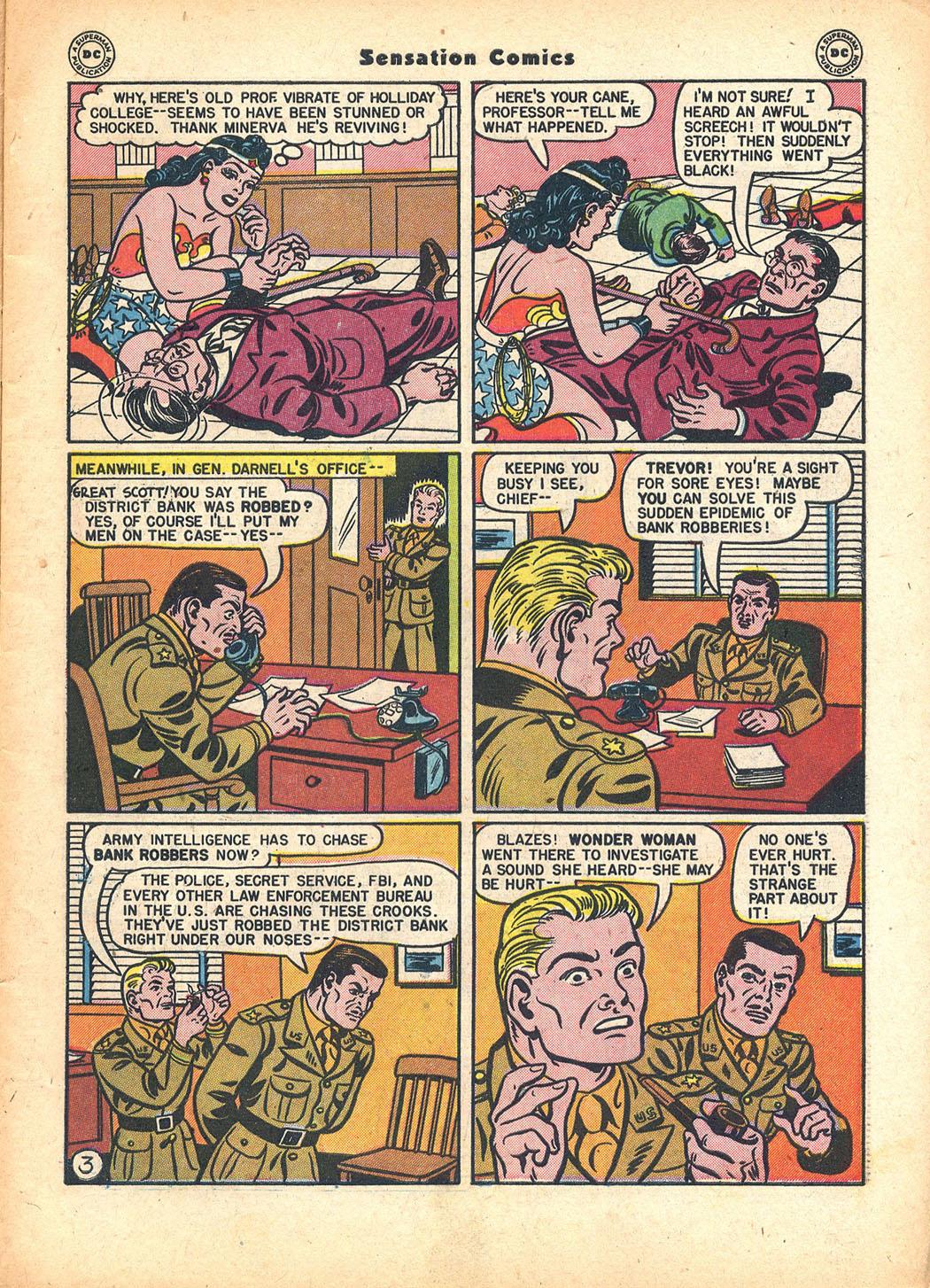 Read online Sensation (Mystery) Comics comic -  Issue #63 - 5