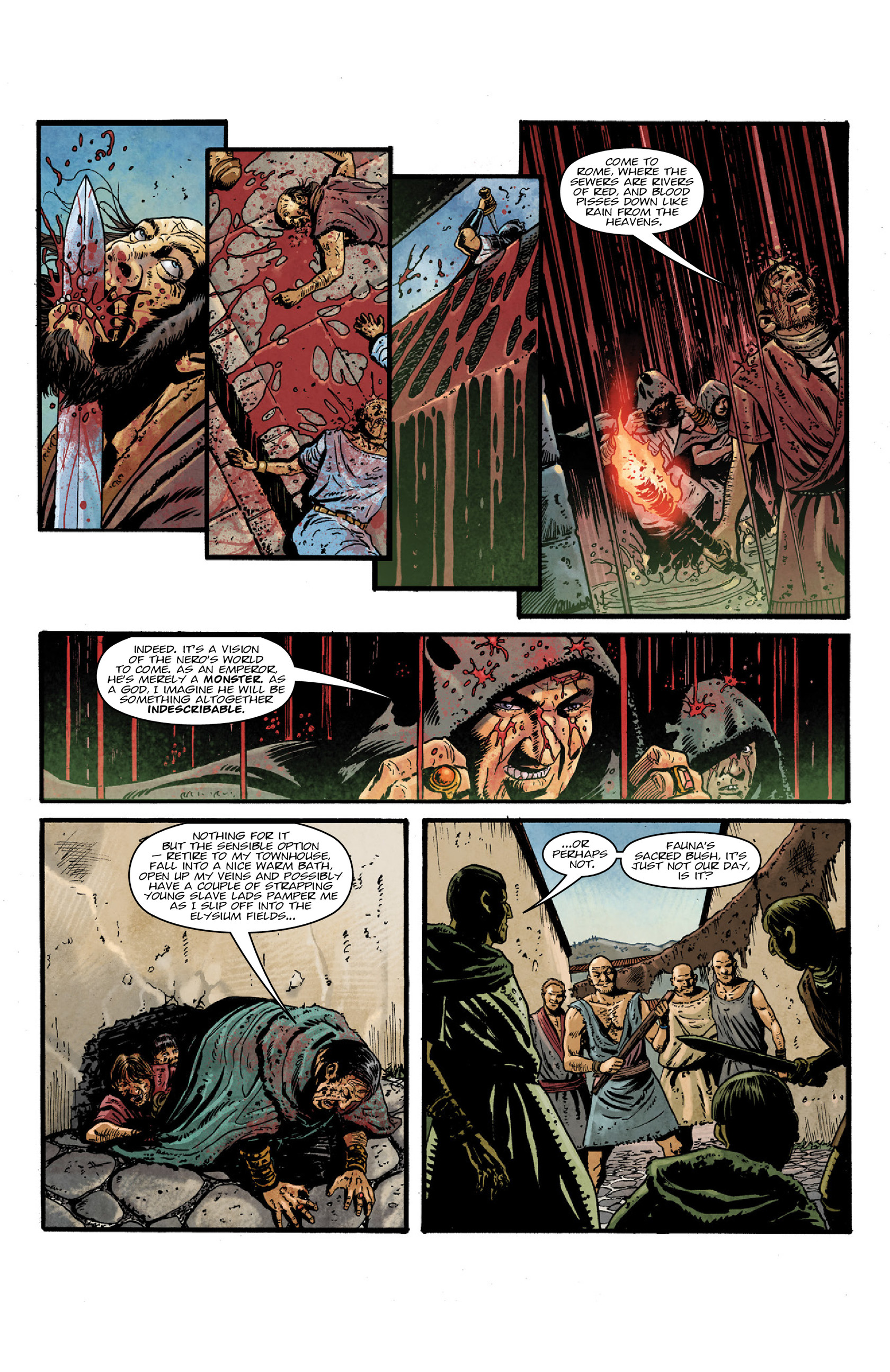 Read online Aquila comic -  Issue #5 - 9