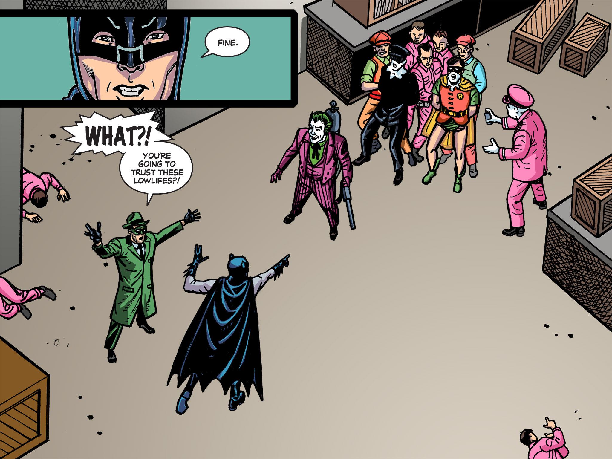 Read online Batman '66 Meets the Green Hornet [II] comic -  Issue #5 - 12