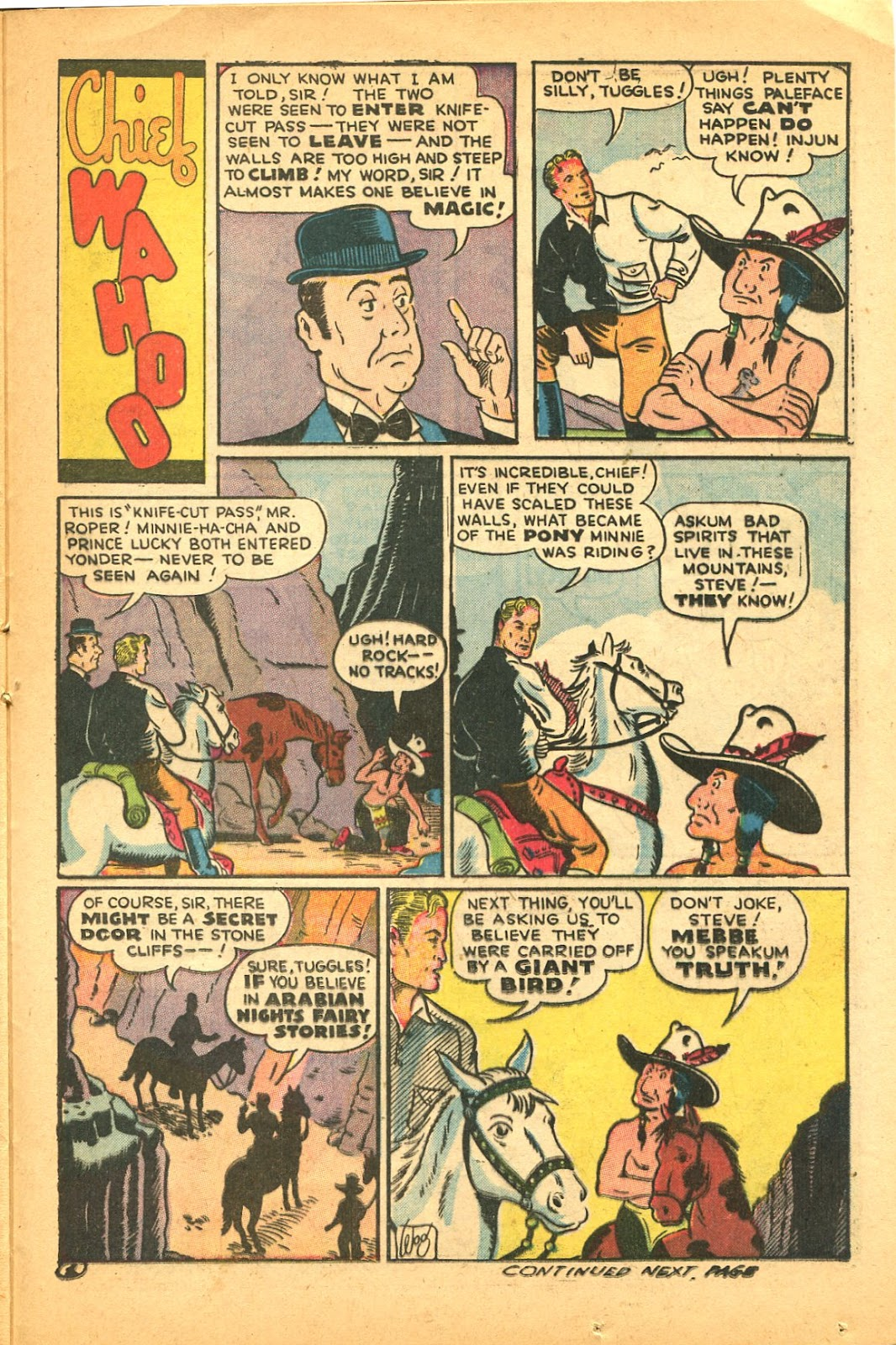 Read online Famous Funnies comic -  Issue #119 - 35