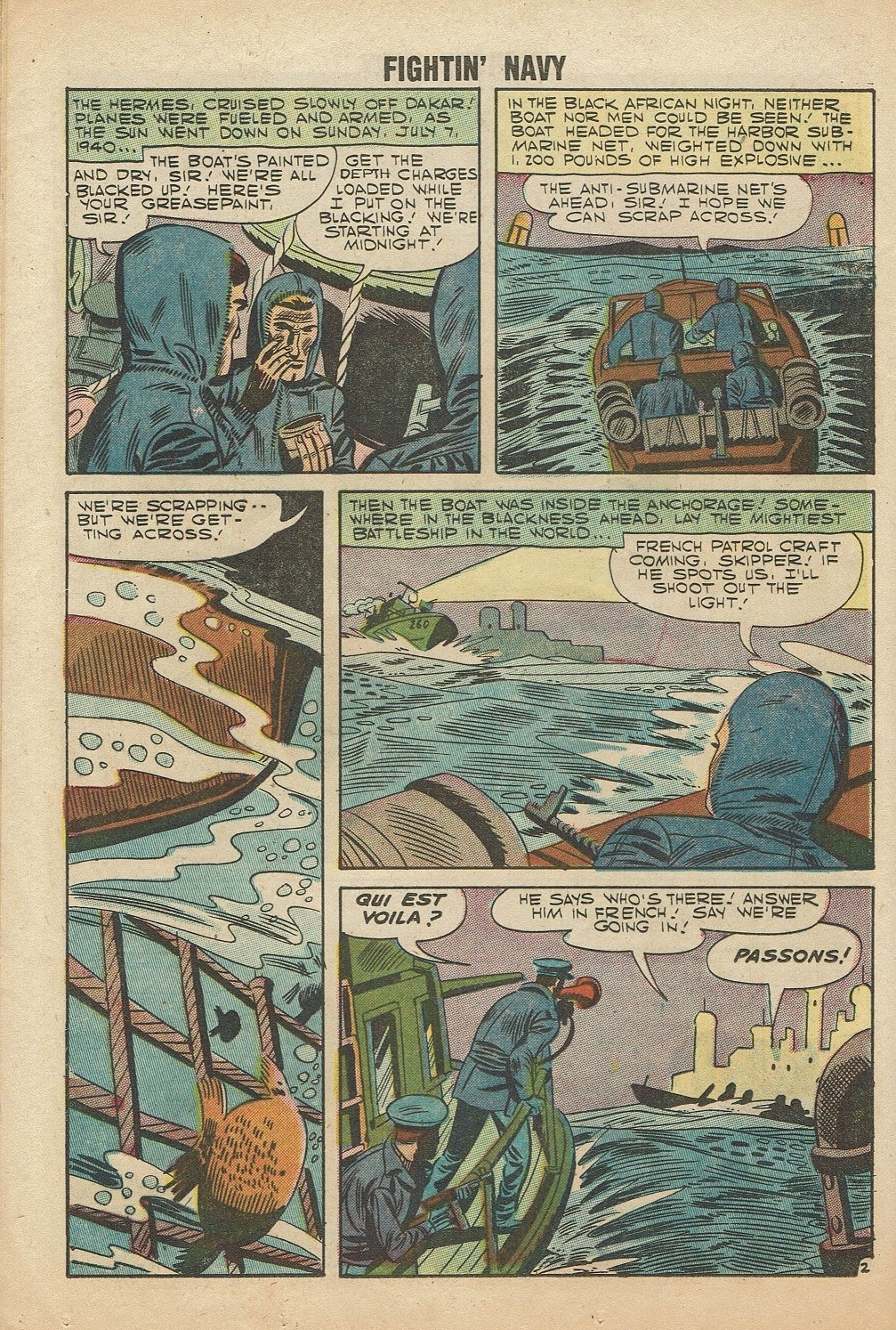 Read online Fightin' Navy comic -  Issue #81 - 24