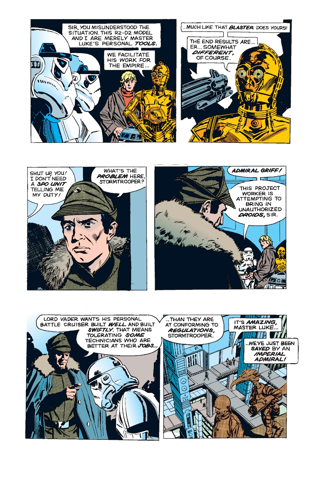Read online Star Wars Legends: The Newspaper Strips - Epic Collection comic -  Issue # TPB (Part 5) - 45