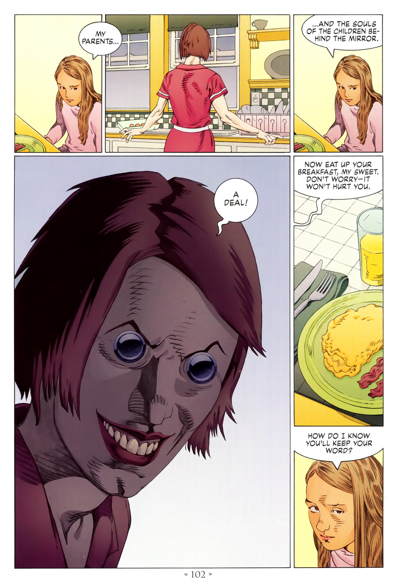 Read online Coraline comic -  Issue #1 - 108