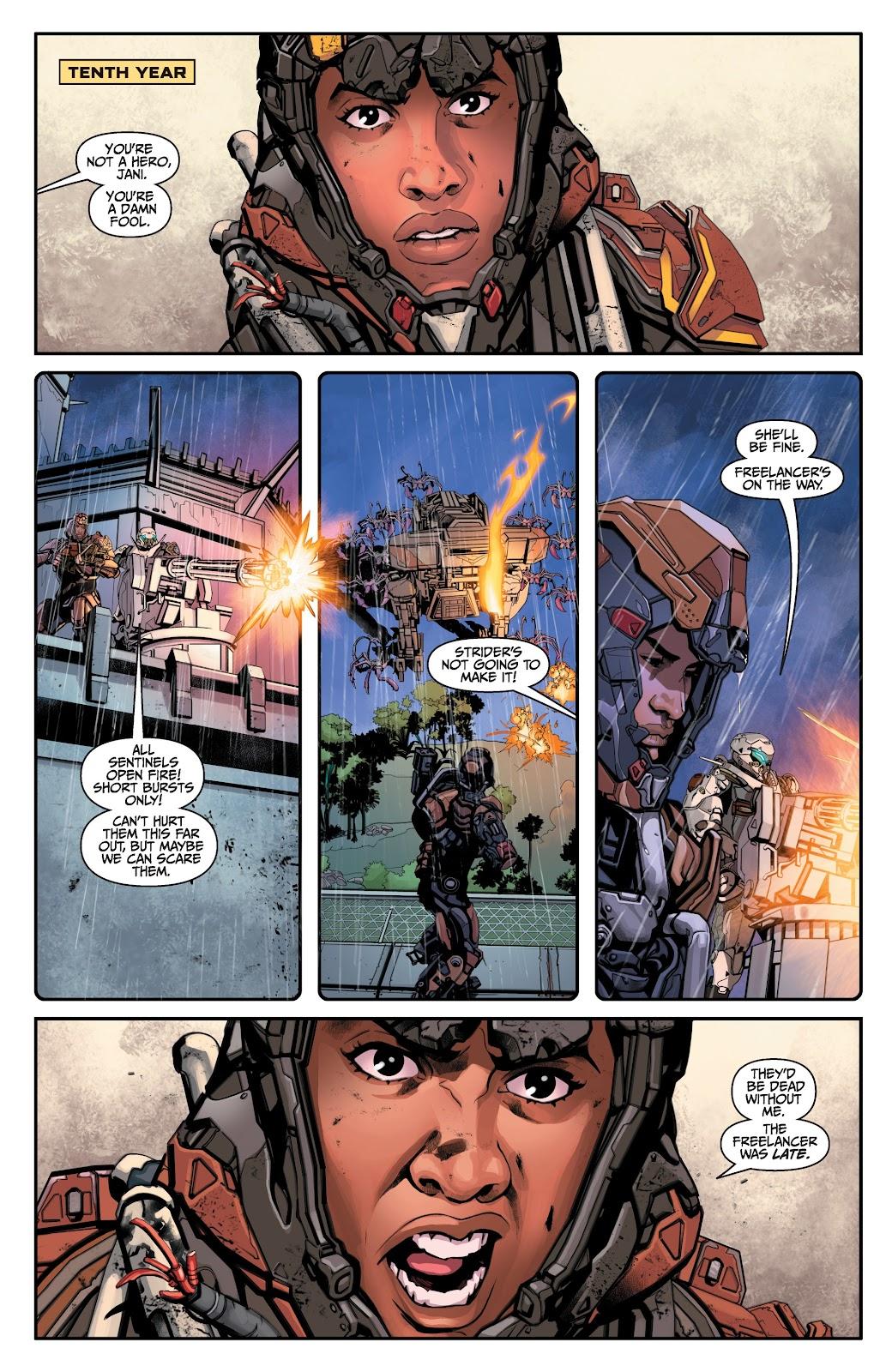 Read online Anthem comic -  Issue #2 - 3