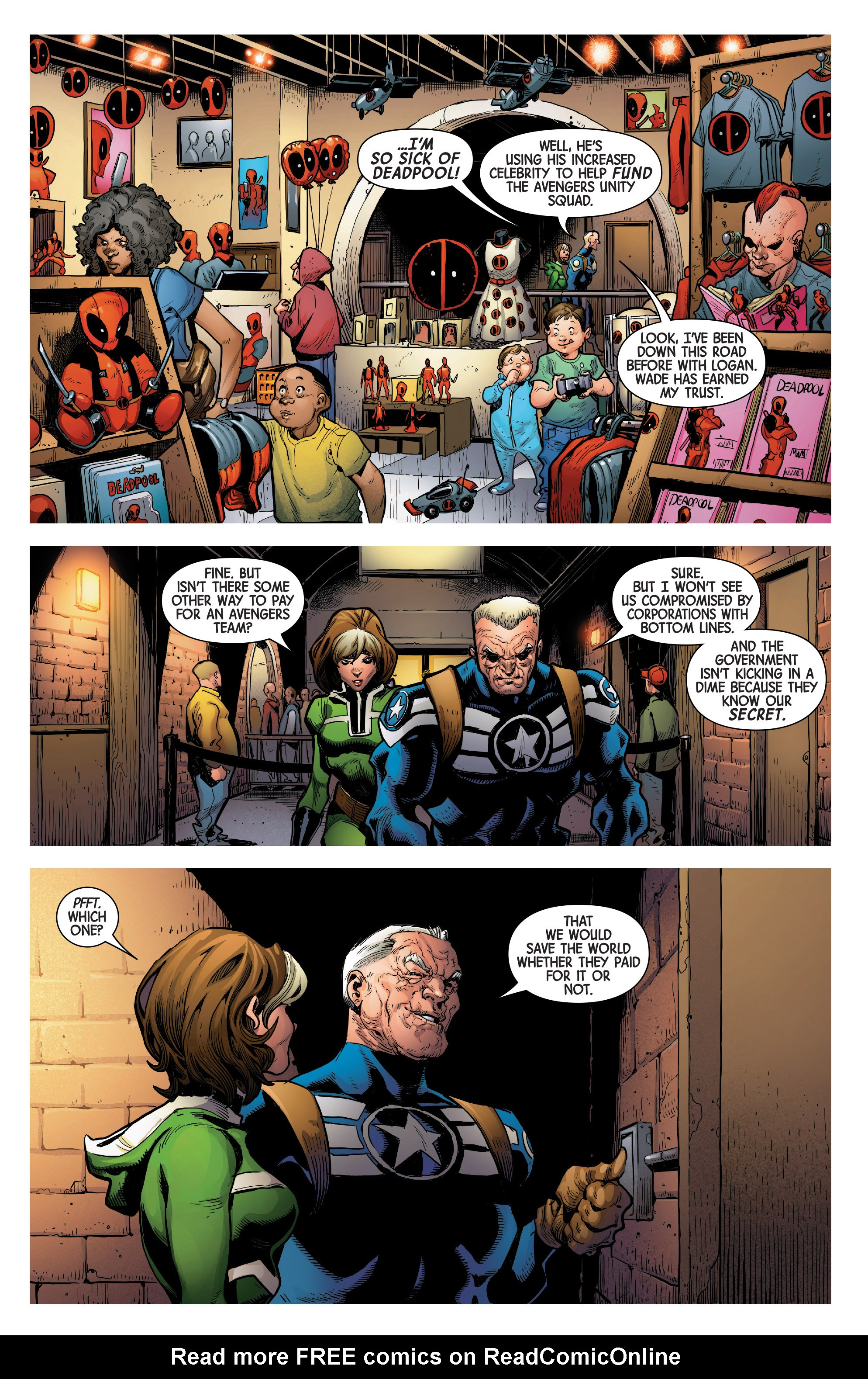 Read online Uncanny Avengers [II] comic -  Issue #1 - 19