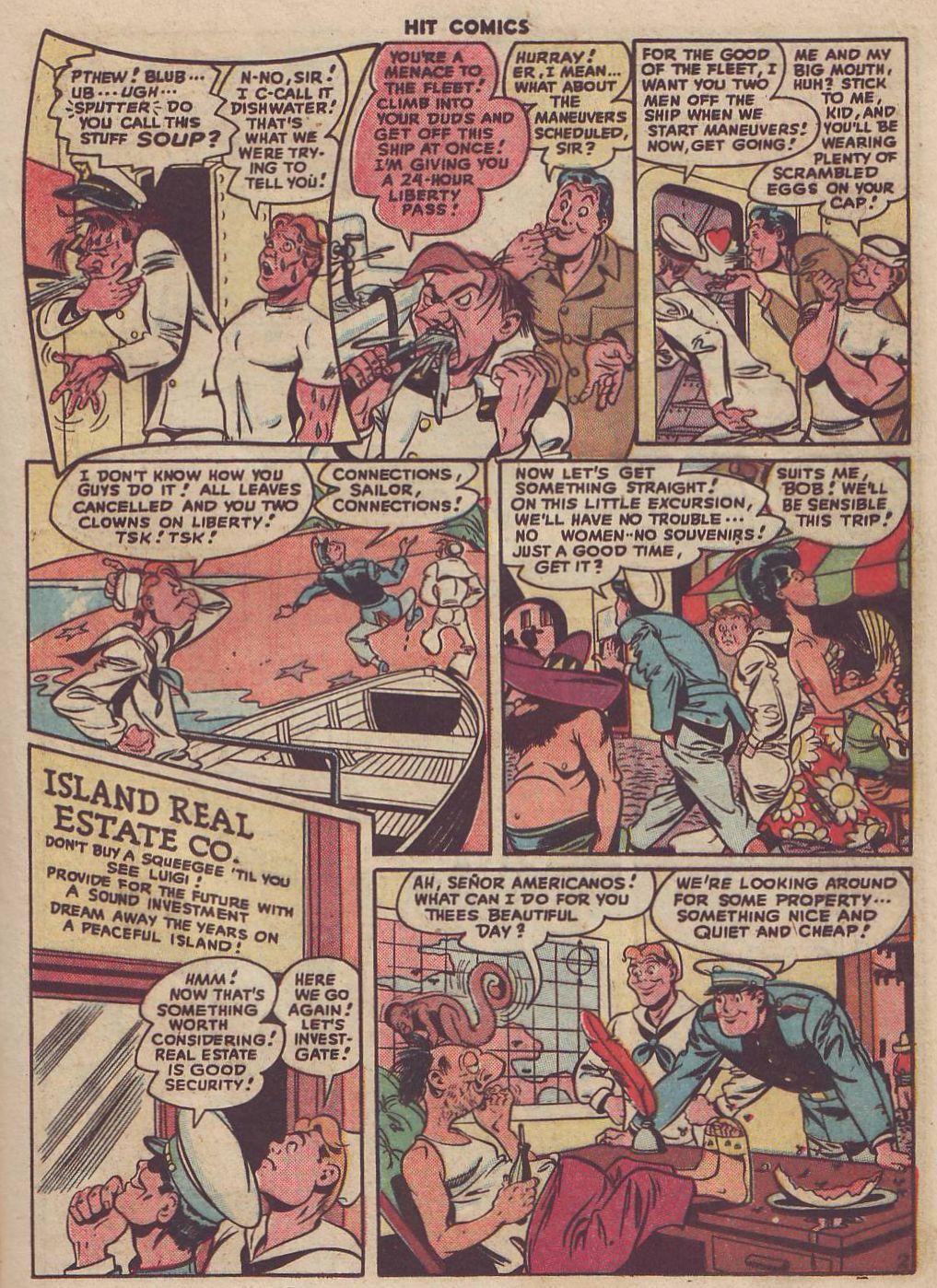 Read online Hit Comics comic -  Issue #51 - 17