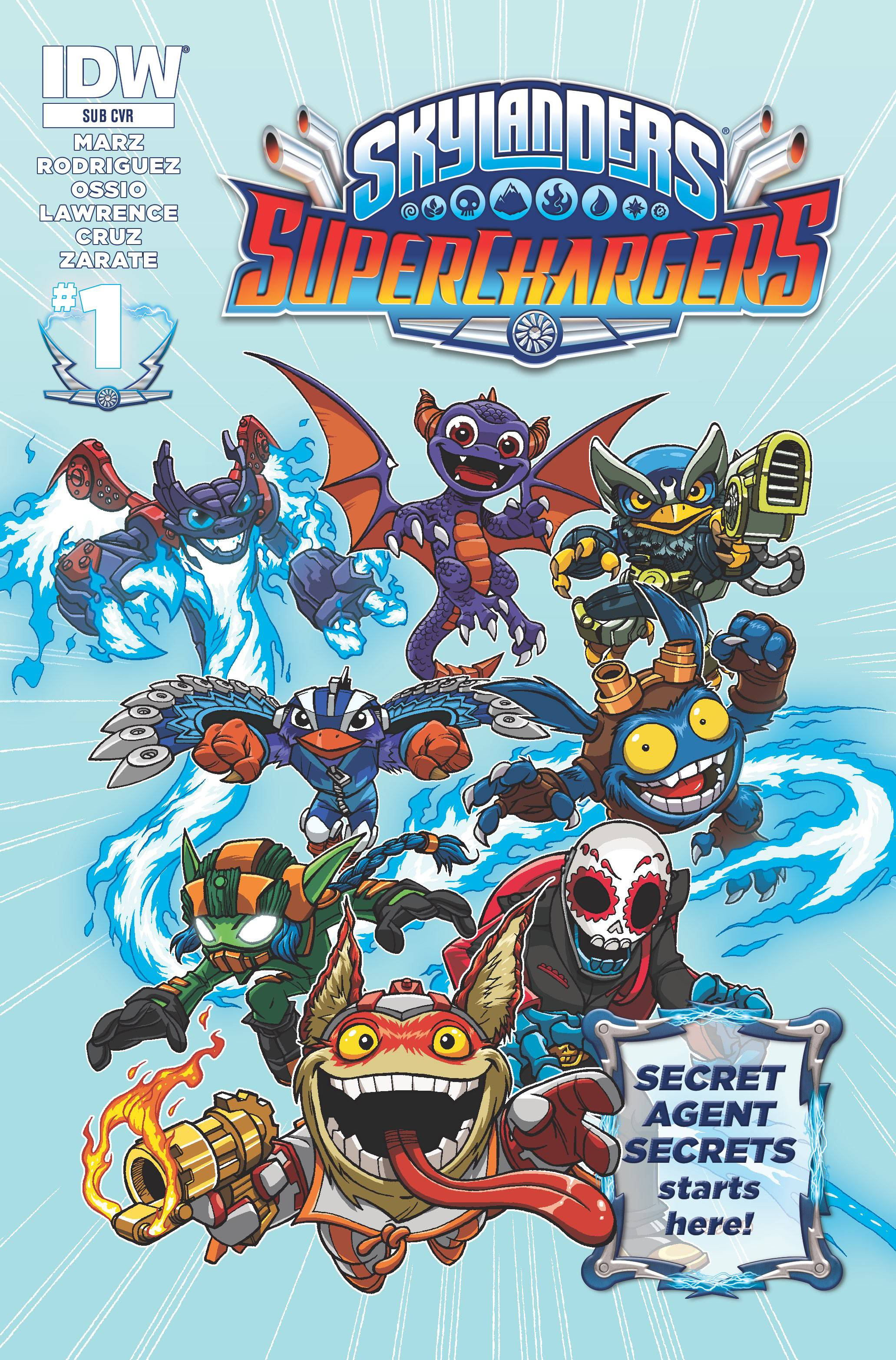 Read online Skylanders Superchargers comic -  Issue #1 - 2