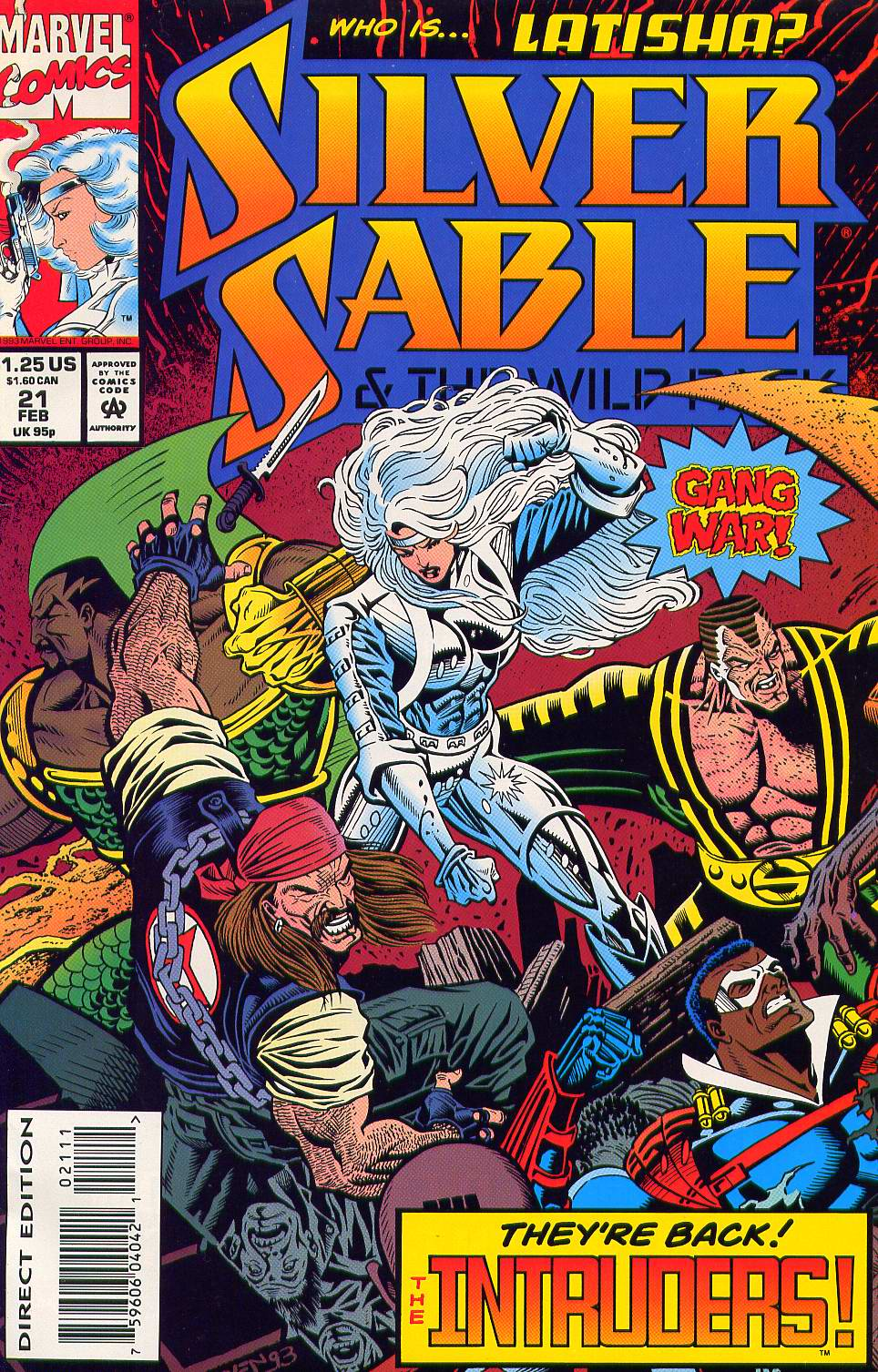 Read online Silver Sable and the Wild Pack comic -  Issue #21 - 1